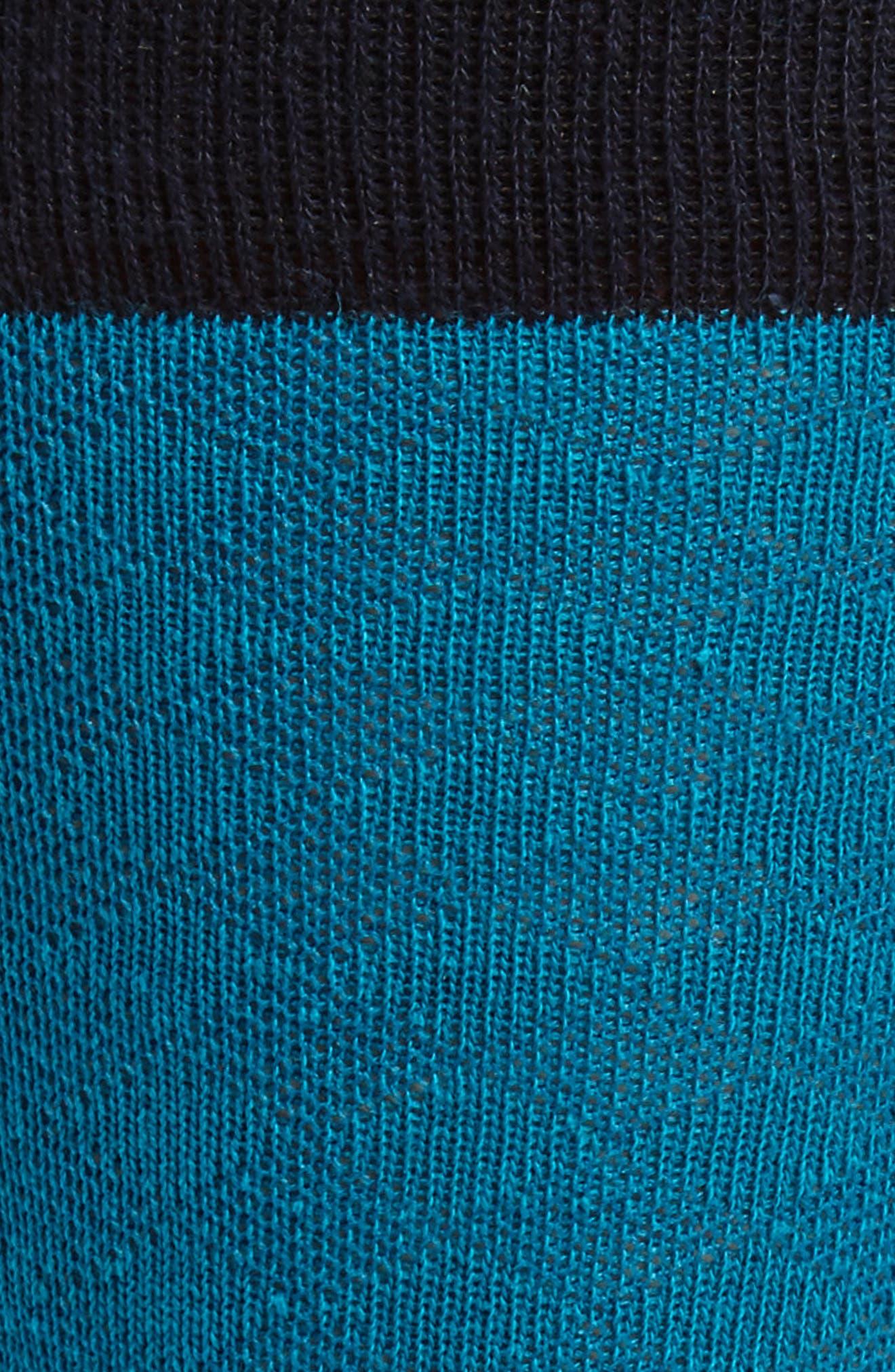 Oakwood Geometric Socks,                             Alternate thumbnail 4, color,