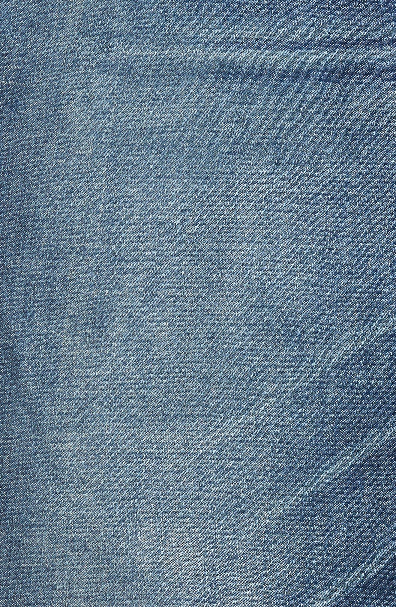 HUDSON JEANS,                             Vaughn Biker Skinny Fit Jeans,                             Alternate thumbnail 5, color,                             422