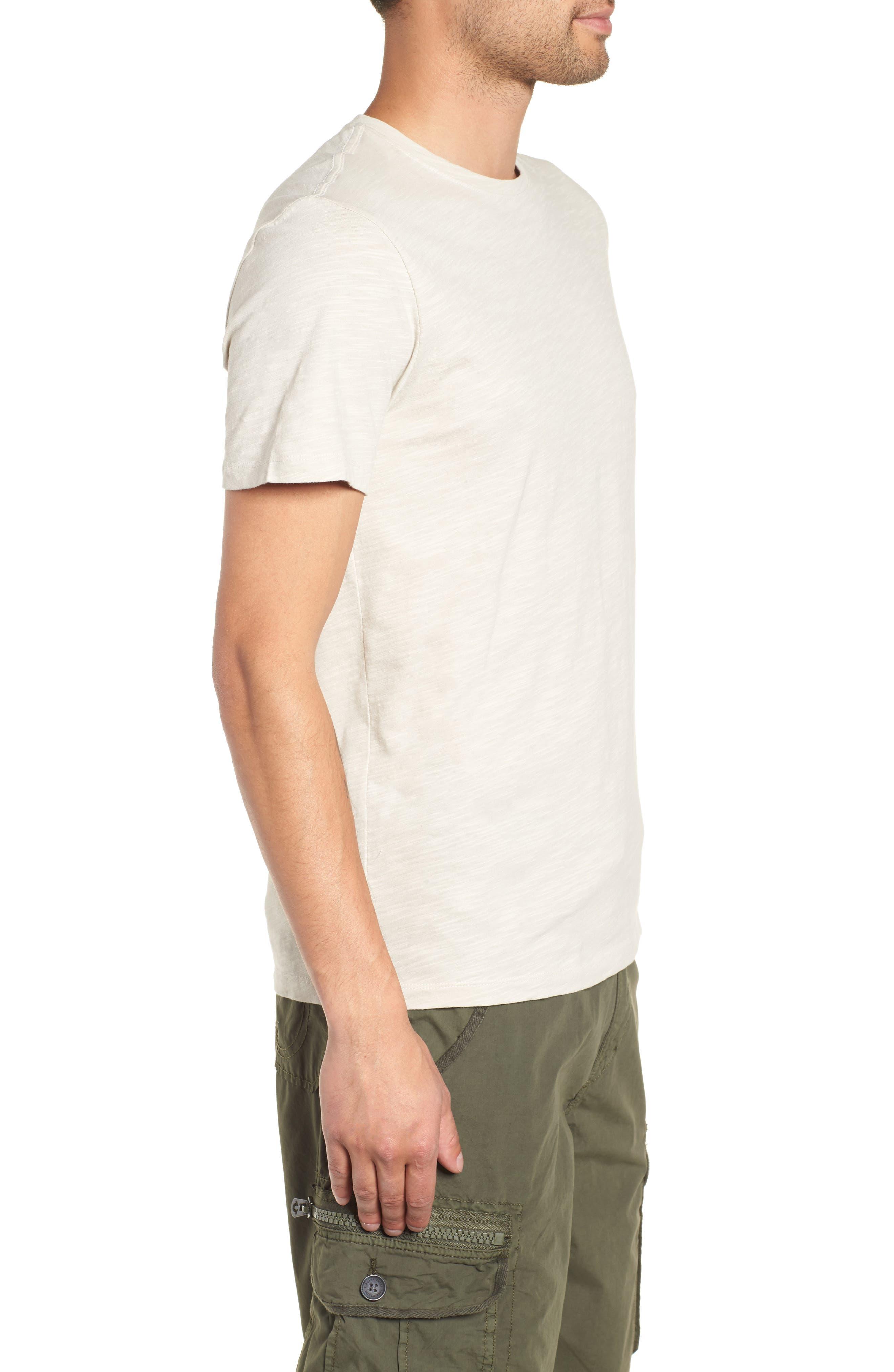 THE RAIL,                             Slub Knit T-Shirt,                             Alternate thumbnail 3, color,                             050