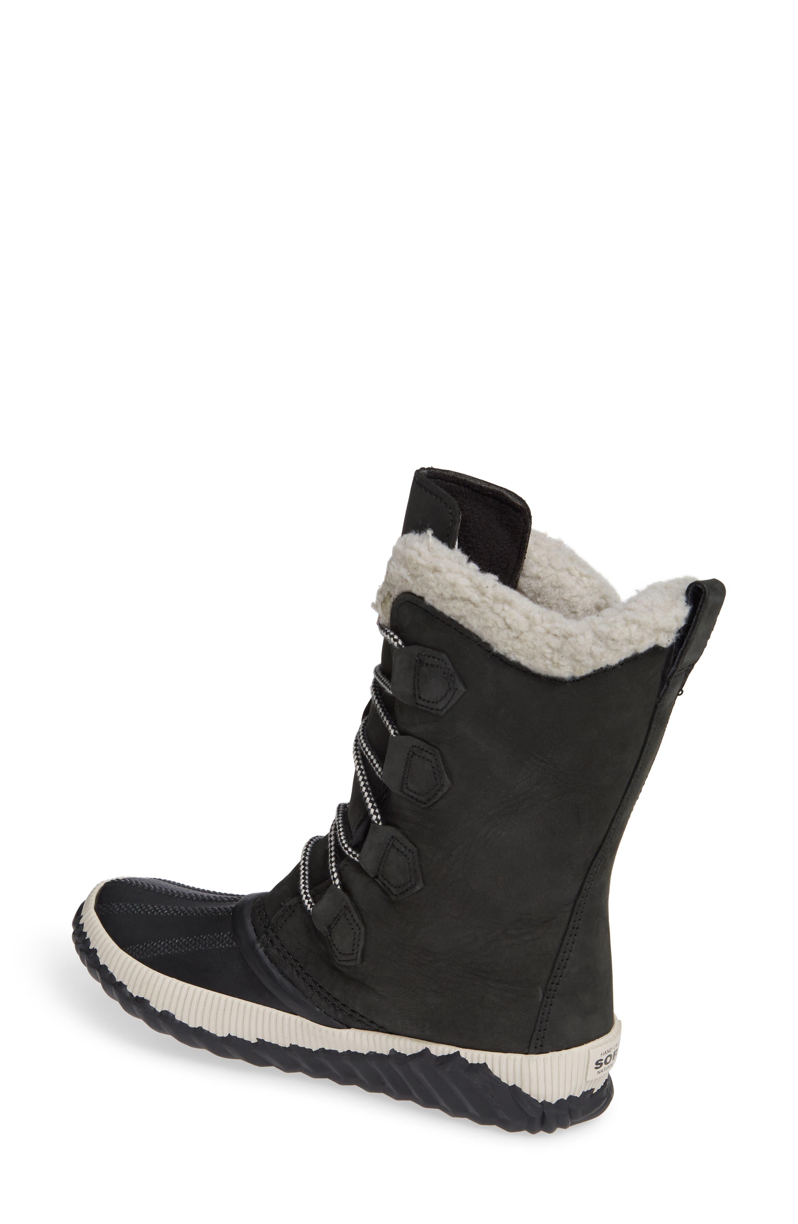 Out N About Plus Tall Waterproof Boot,                             Alternate thumbnail 2, color,                             BLACK