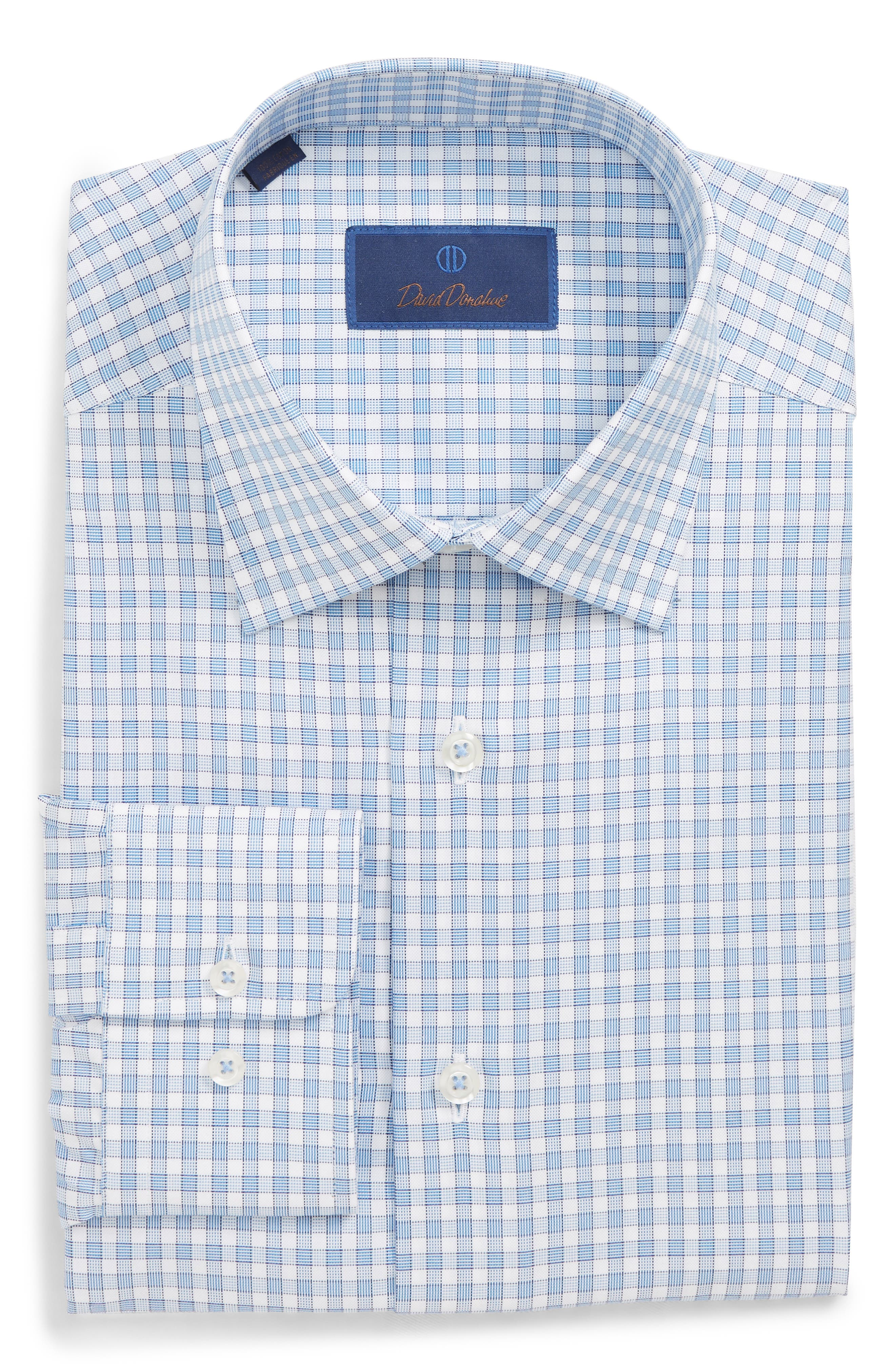 Regular Fit Plaid Dress Shirt,                             Main thumbnail 1, color,                             423