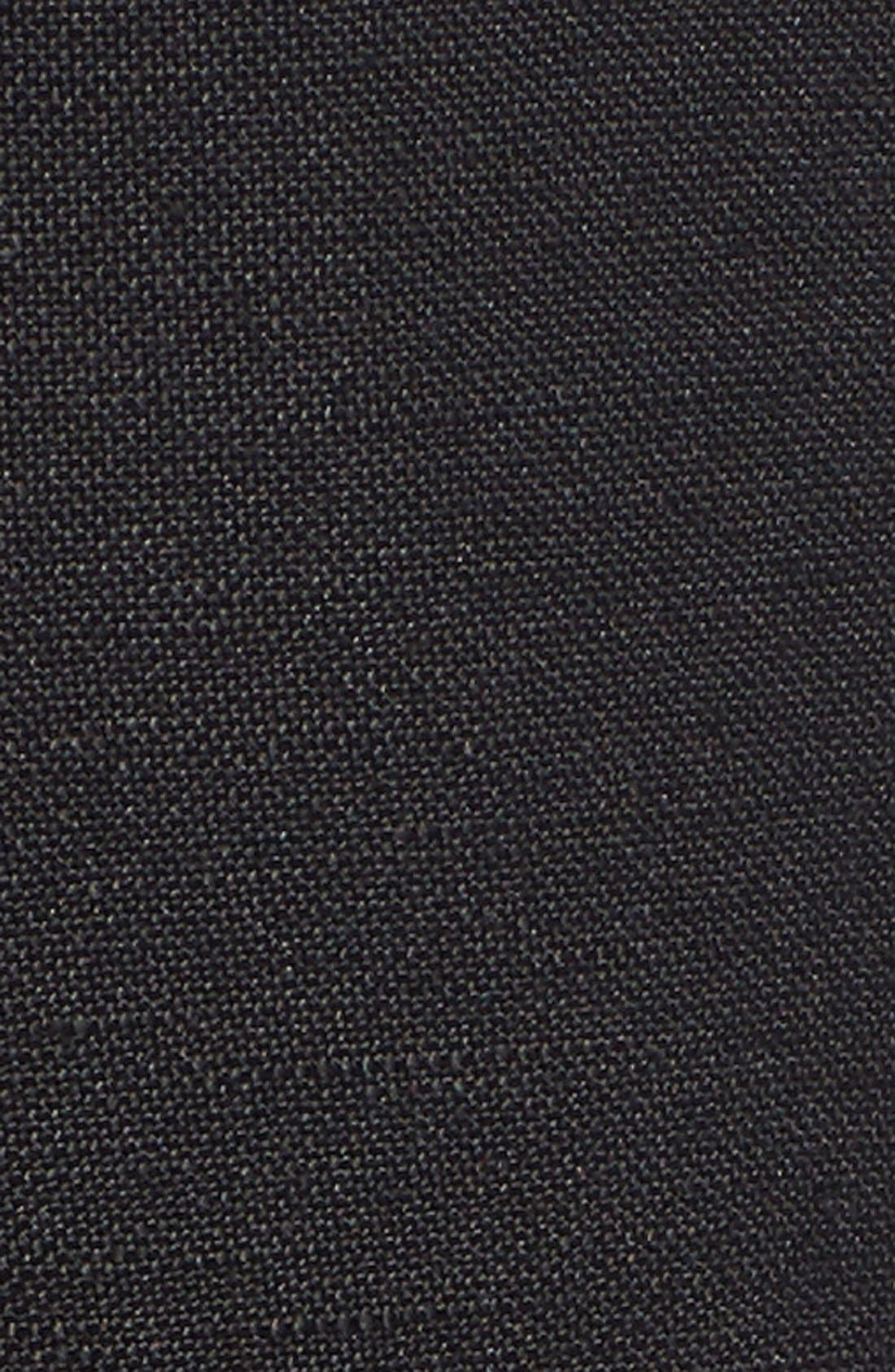 'Easy' Linen Blend Wide Leg Pants,                             Alternate thumbnail 2, color,                             004