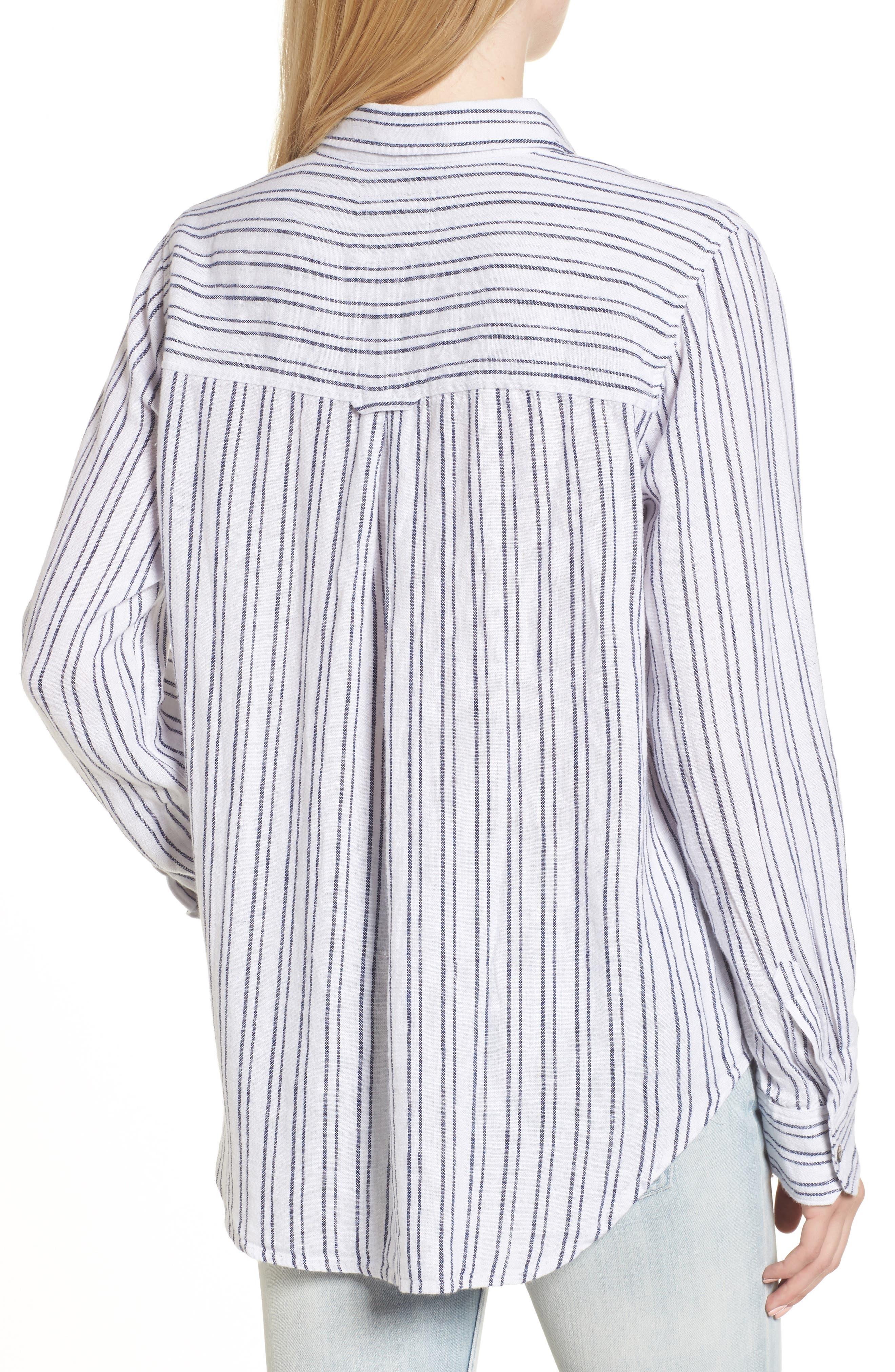 Jimi Stripe Shirt,                             Alternate thumbnail 2, color,