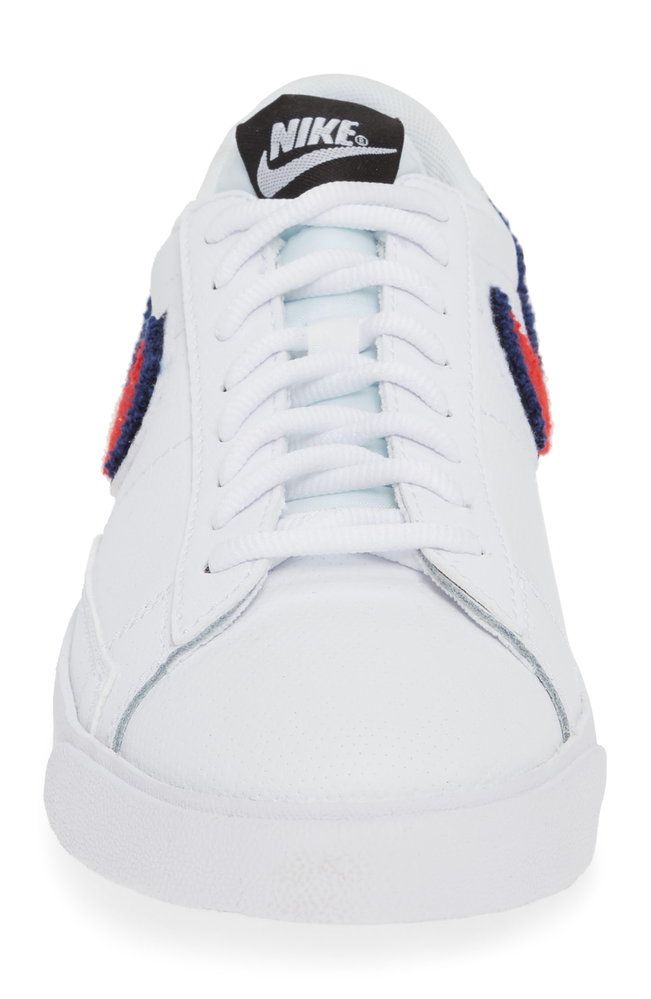 Blazer Low 3D Sneaker,                             Alternate thumbnail 4, color,                             100