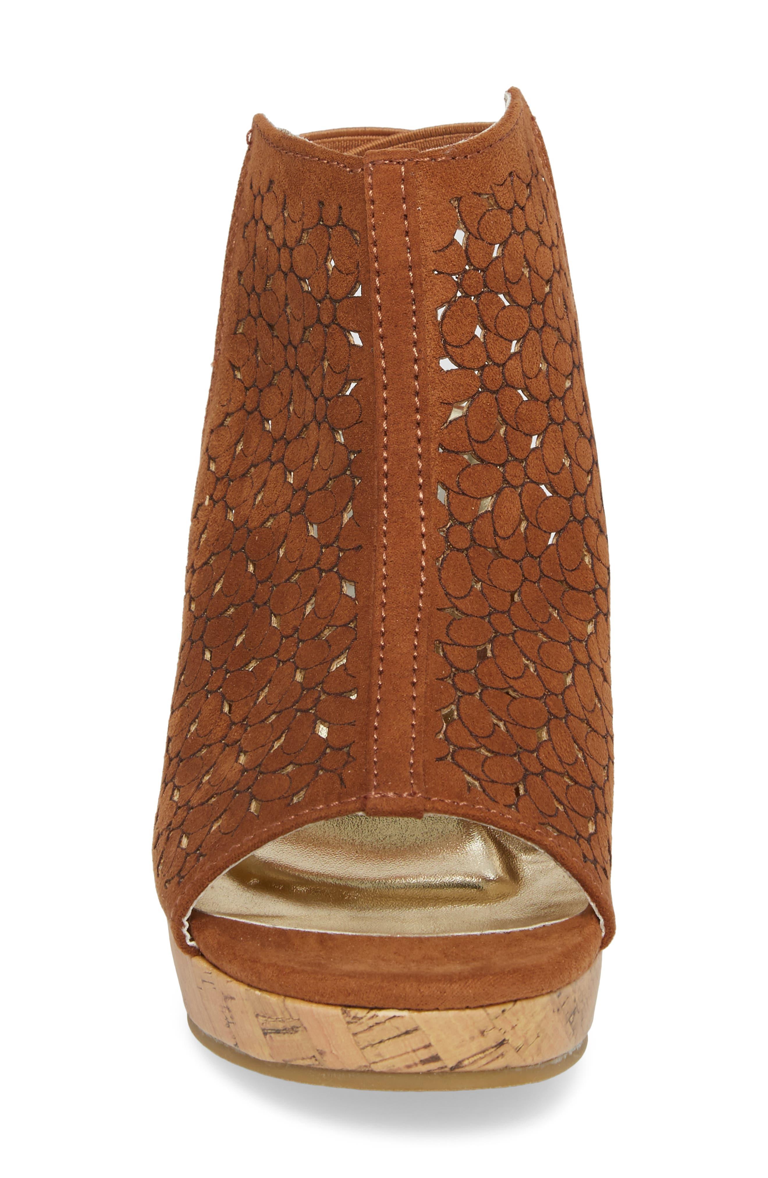 Corrine Finestra Wedge Sandal,                             Alternate thumbnail 4, color,                             255