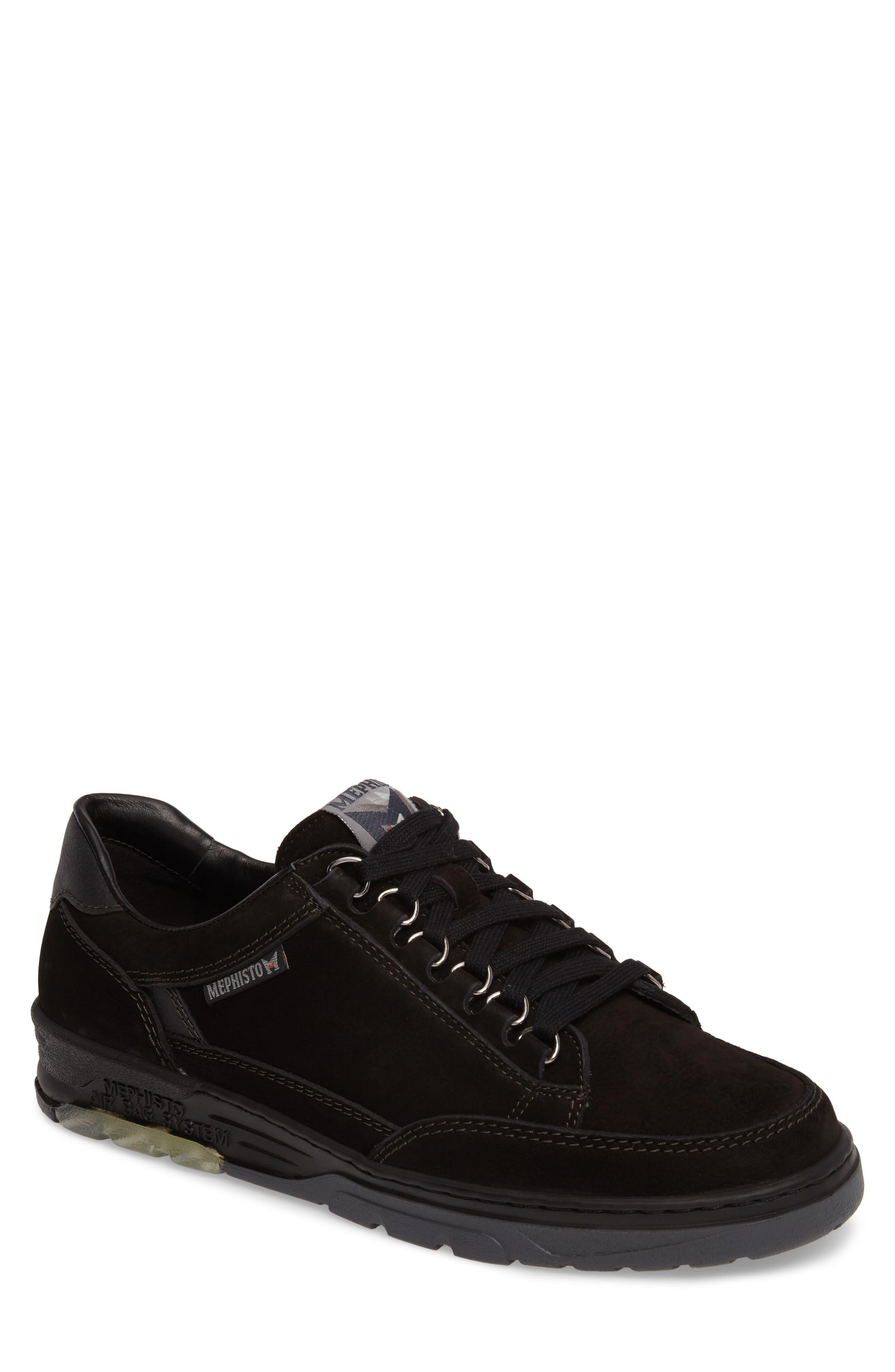 Mick Sneaker,                             Main thumbnail 1, color,                             BLACK SPORTBUCK