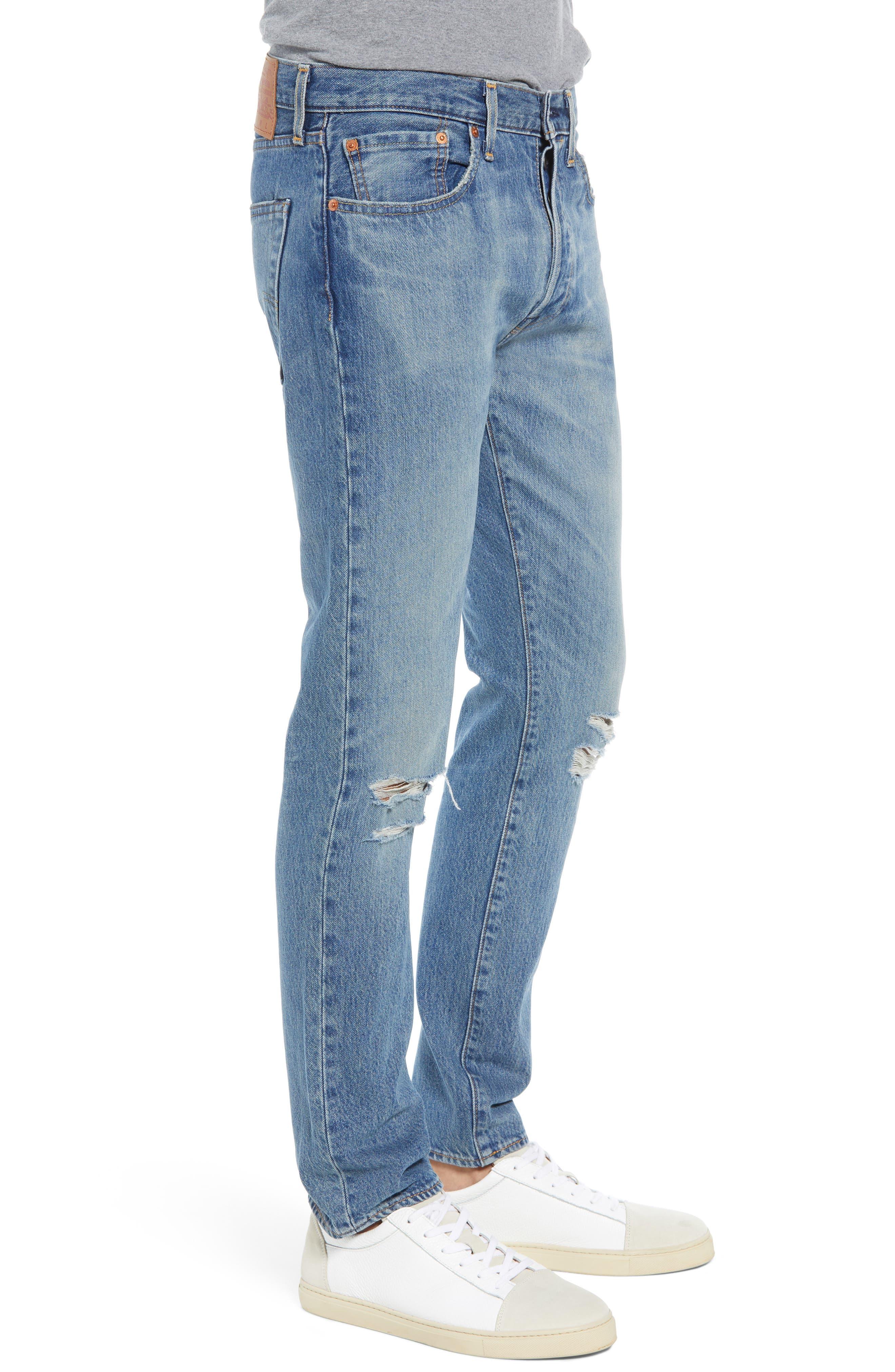 501<sup>™</sup> Slim Fit Jeans,                             Alternate thumbnail 3, color,                             SINGLE PAYER WARP