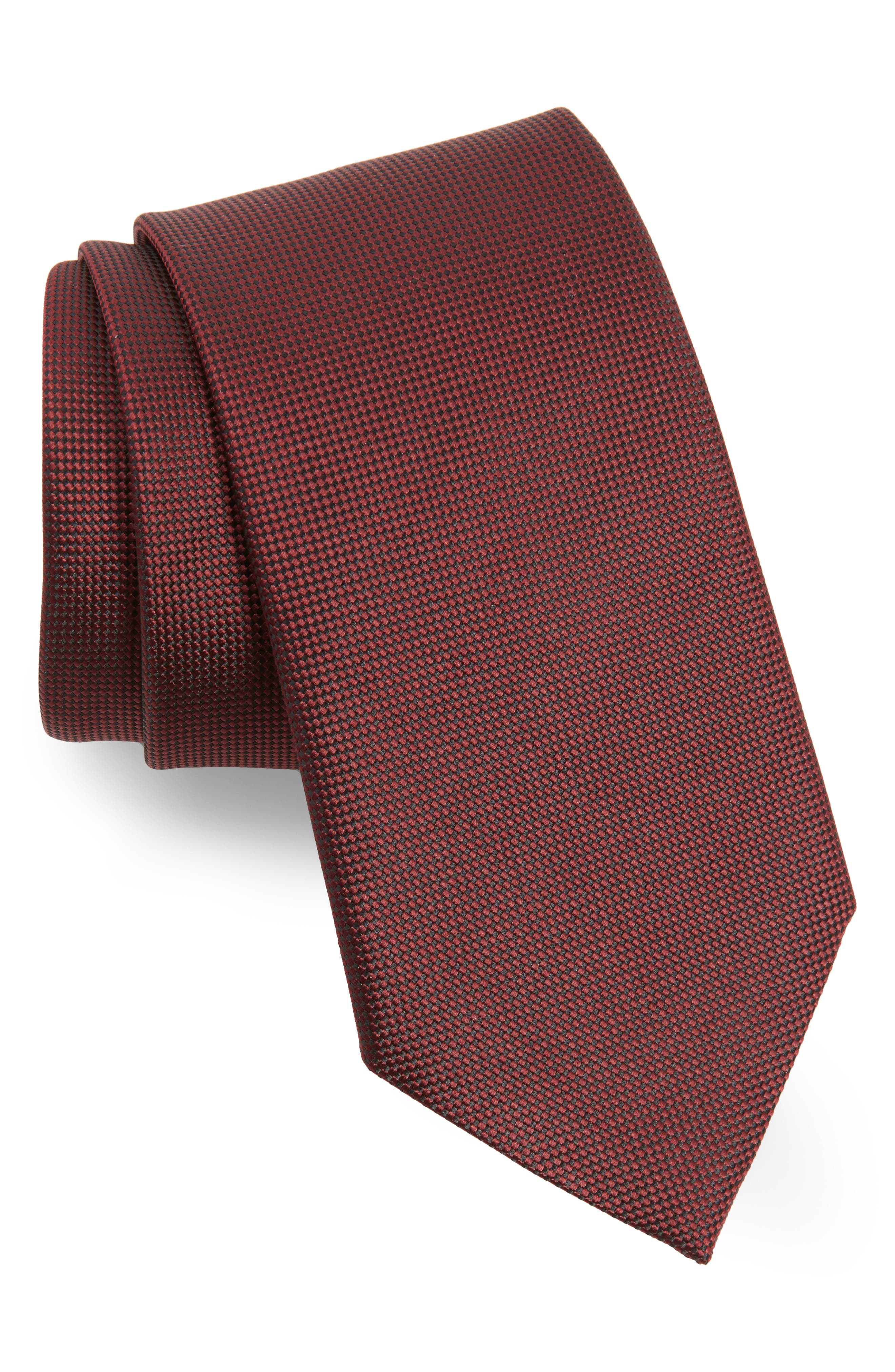 Solid Silk Tie,                             Main thumbnail 8, color,
