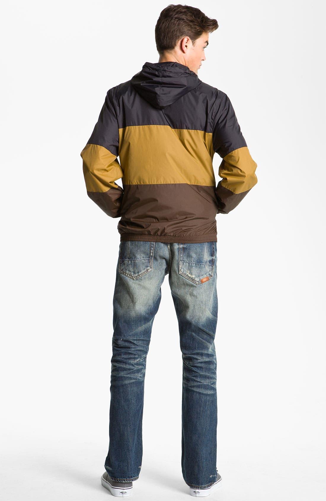 'Magnus' Windbreaker Jacket,                             Alternate thumbnail 5, color,                             001