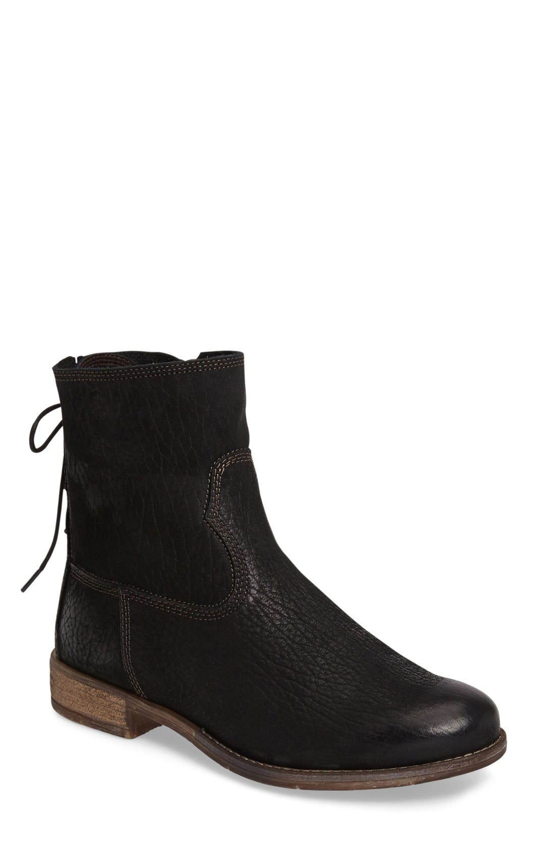 Sienna 01 Lace Back Bootie,                             Main thumbnail 1, color,