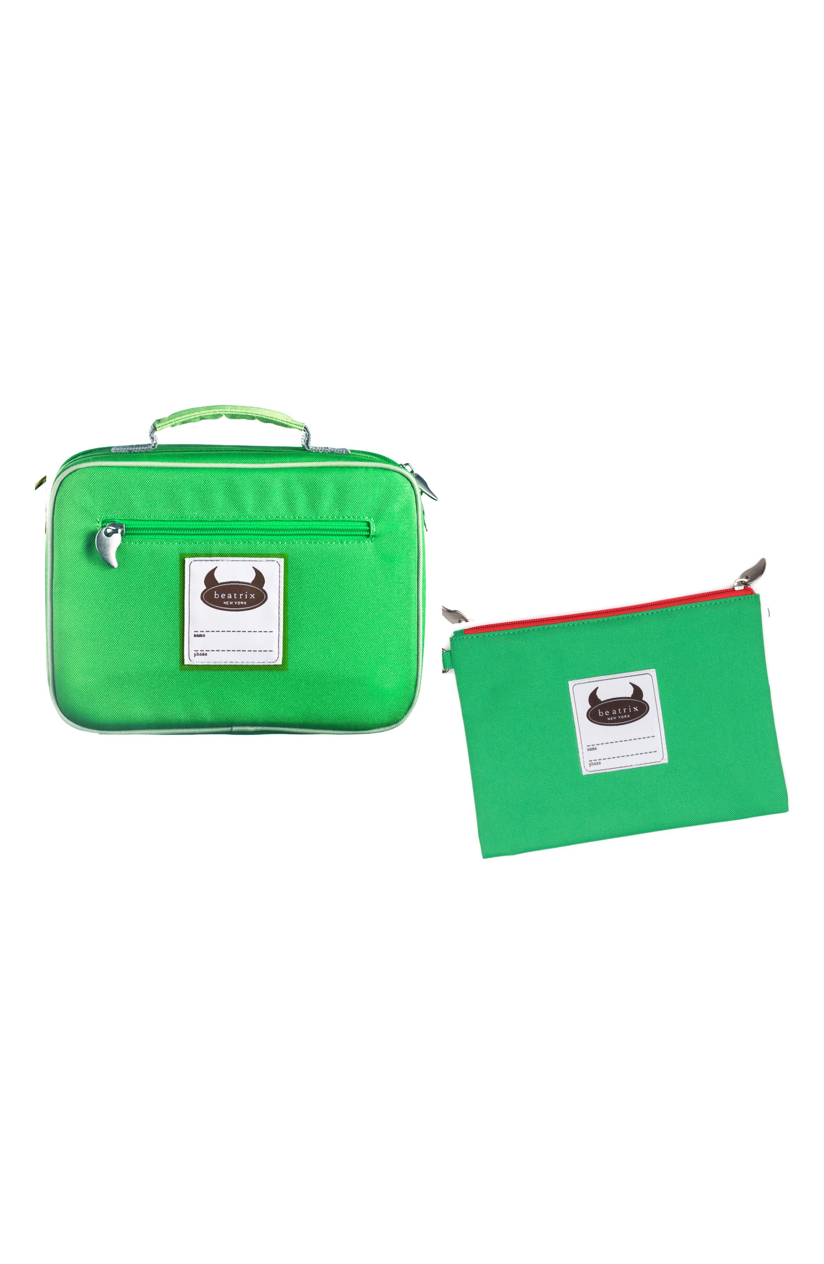 Lunch Box & Travel Pouch Set,                             Alternate thumbnail 7, color,