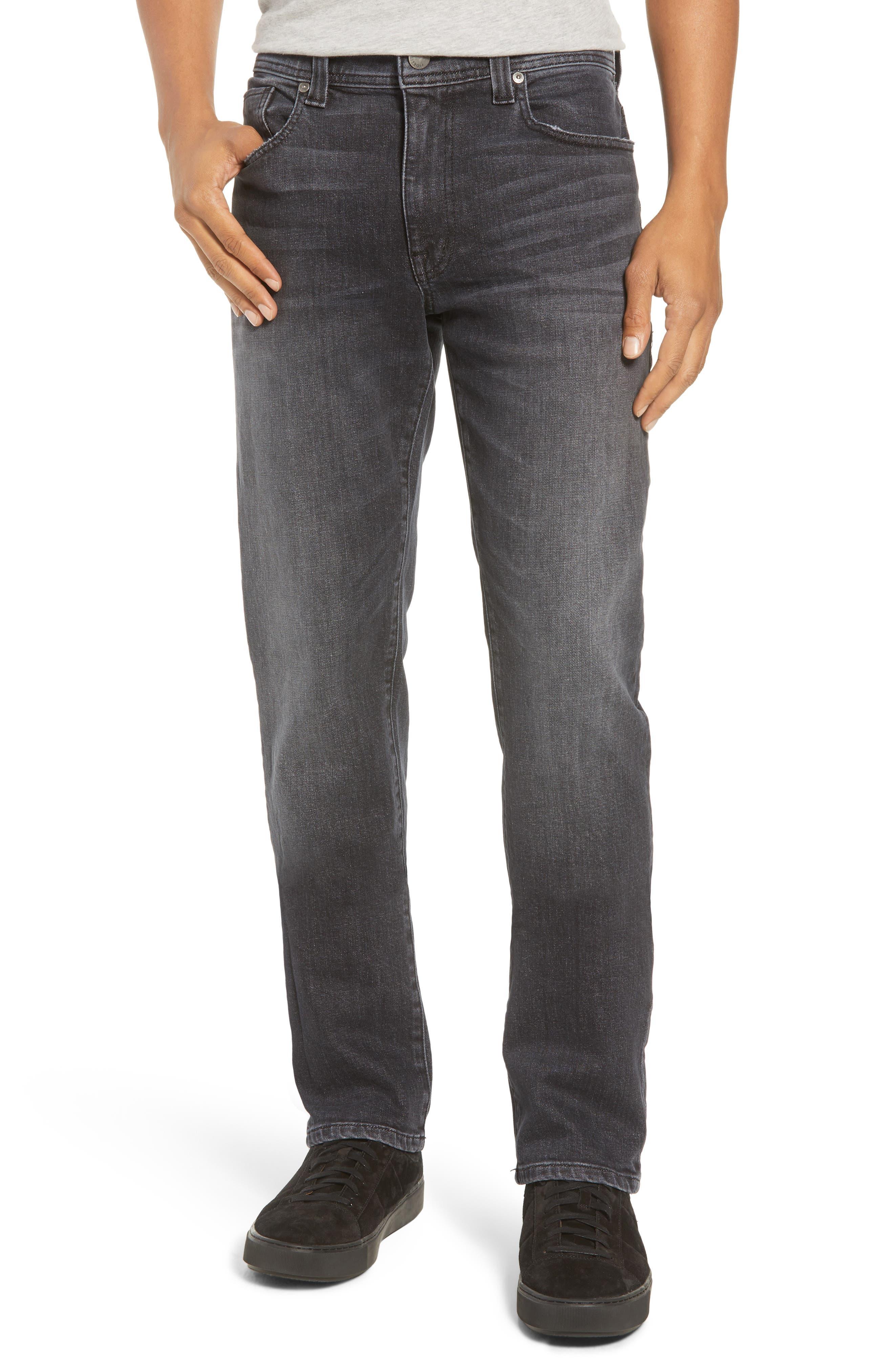 Jimmy Slim Straight Leg Jeans,                         Main,                         color, RAVEN VINTAGE