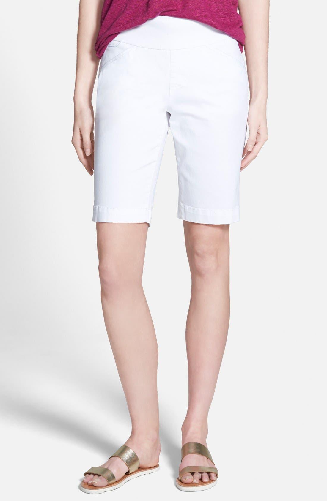 'Ainsley' Slim Bermuda Shorts,                             Main thumbnail 1, color,