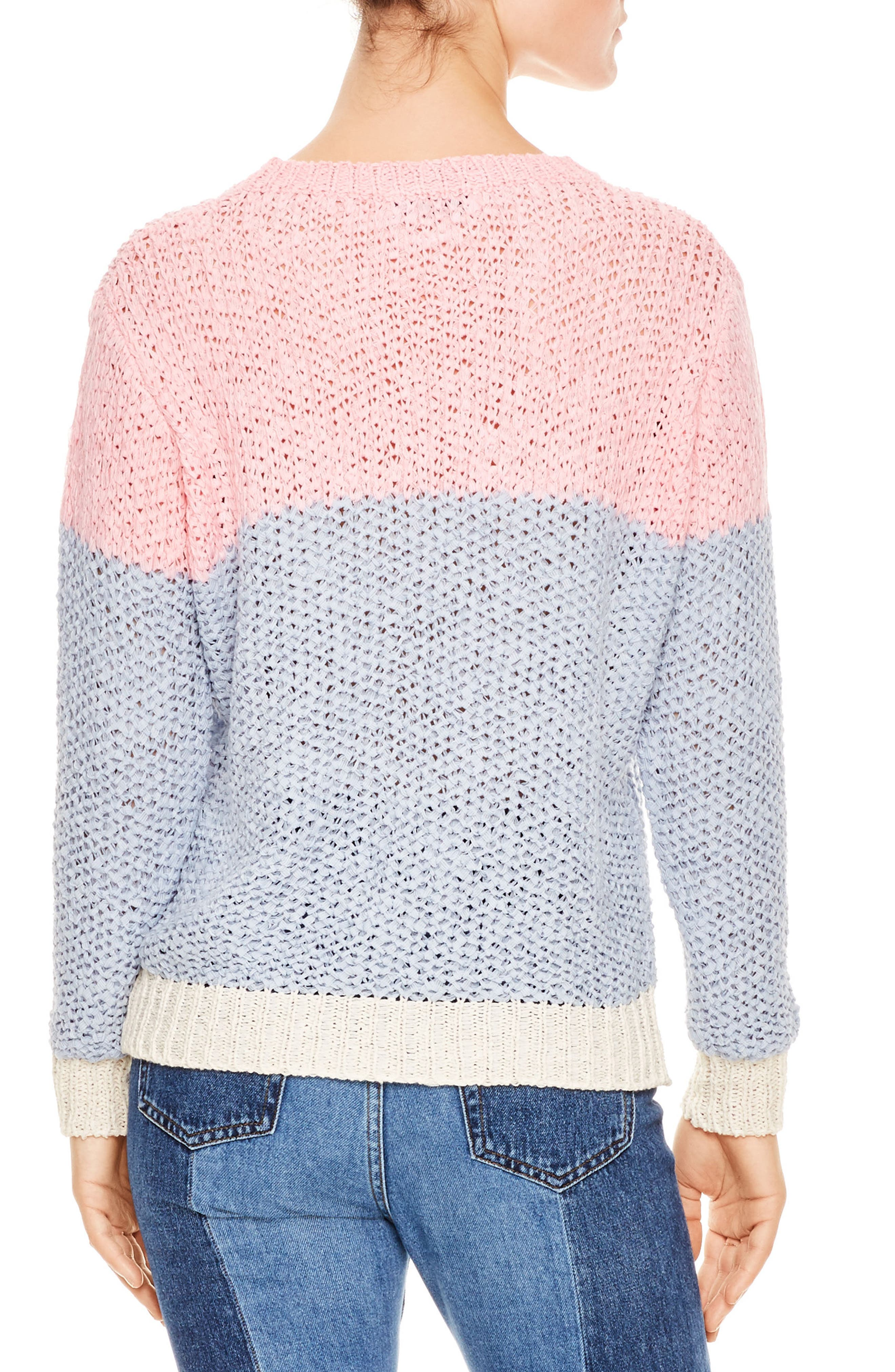 Malabar Colorblock Knit Sweater,                             Alternate thumbnail 2, color,