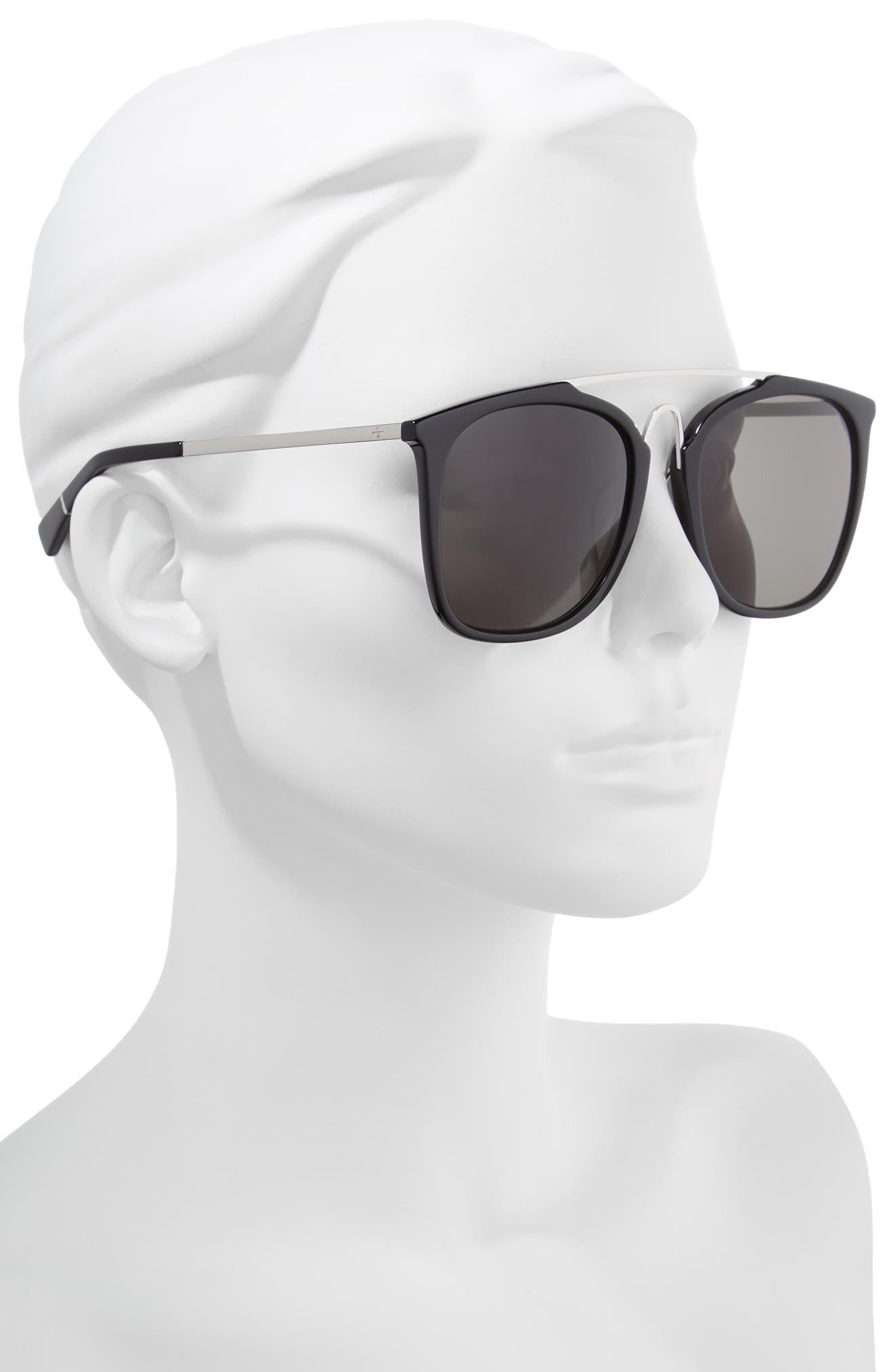 BLANC & ECLARE Bangkok 57mm Polarized Sunglasses,                             Alternate thumbnail 3, color,