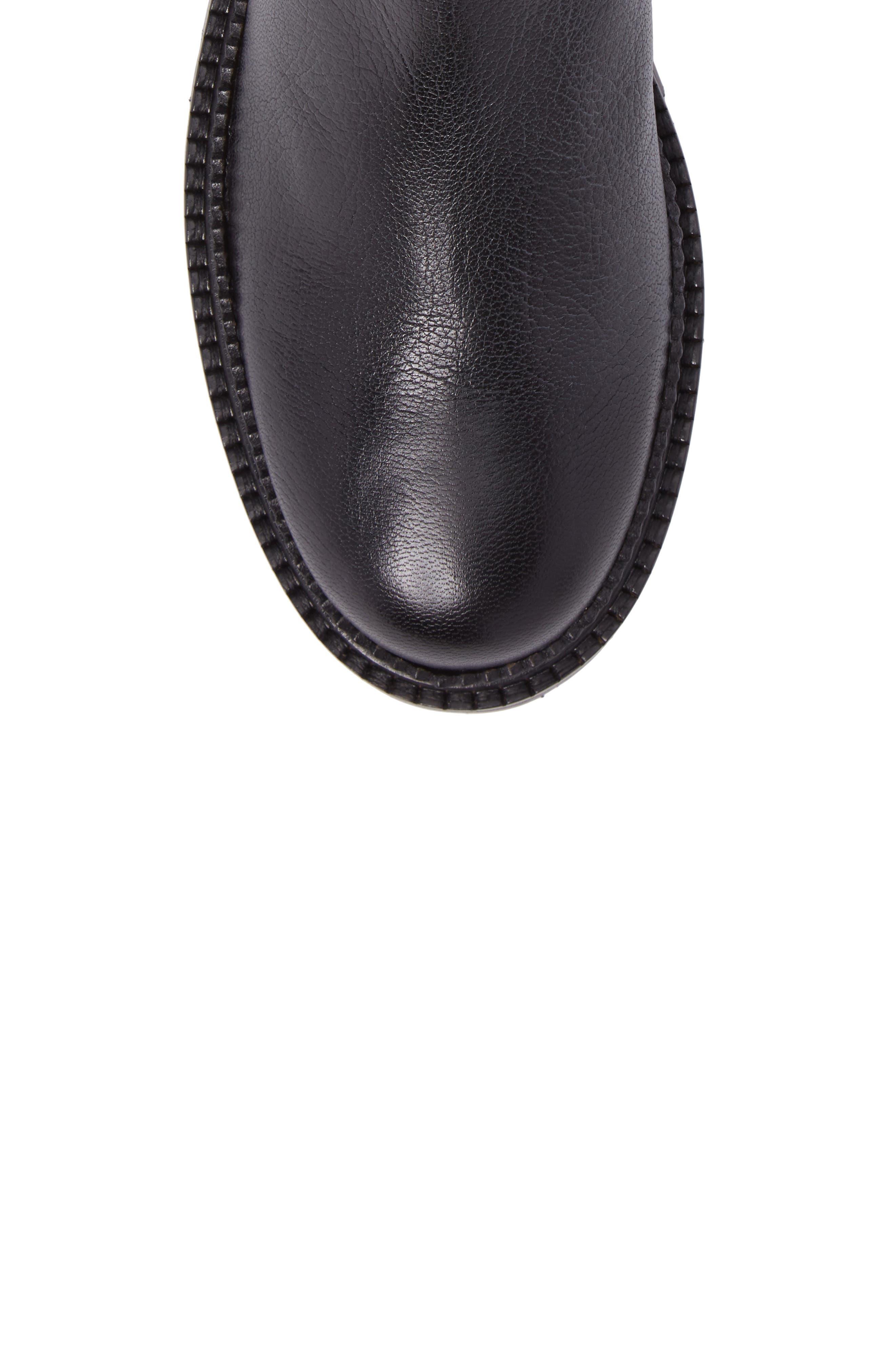 Burrow Chelsea Boot,                             Alternate thumbnail 5, color,                             001