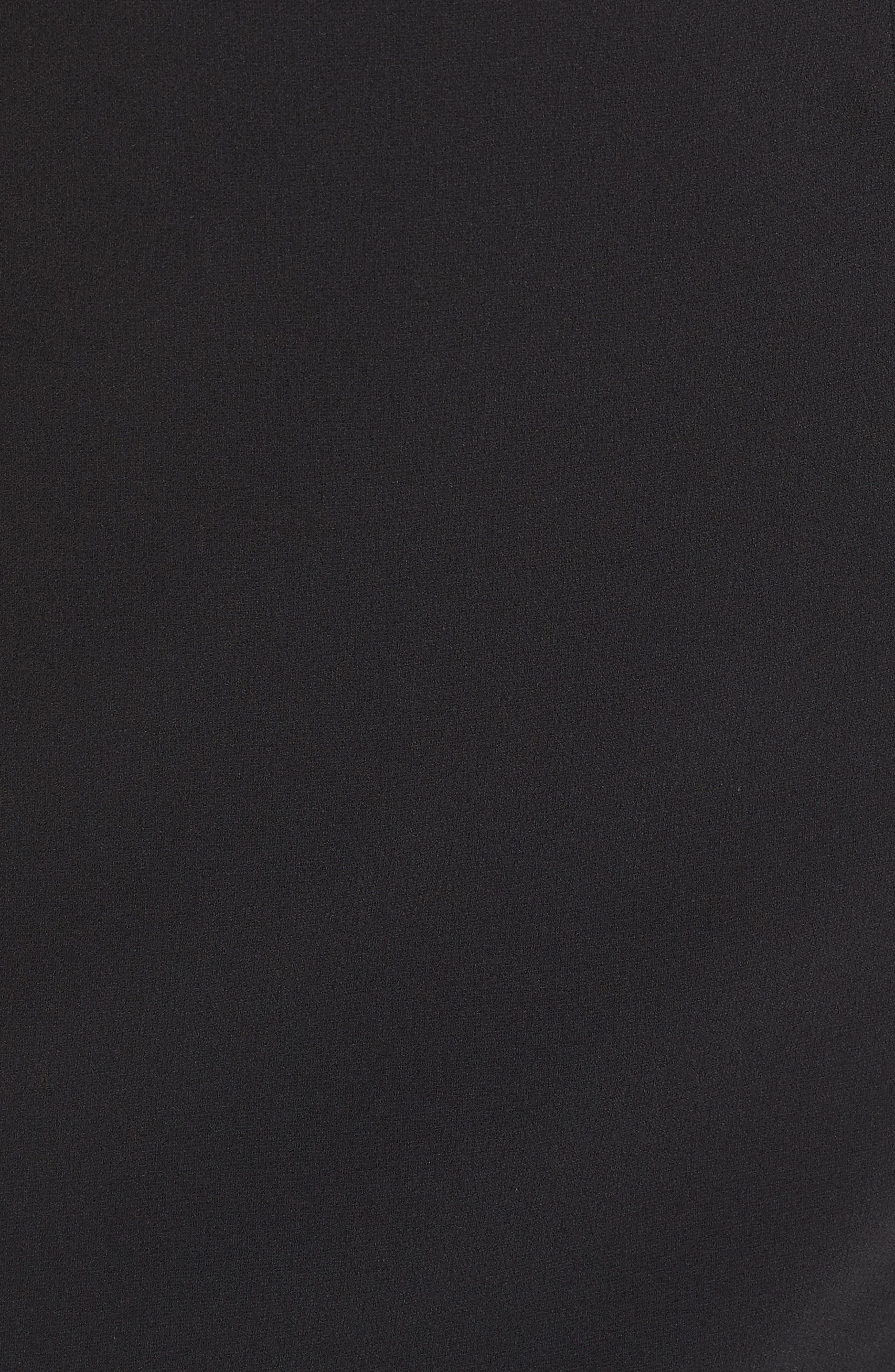 Cleo Halter Dress,                             Alternate thumbnail 10, color,                             BLACK/ BLACK