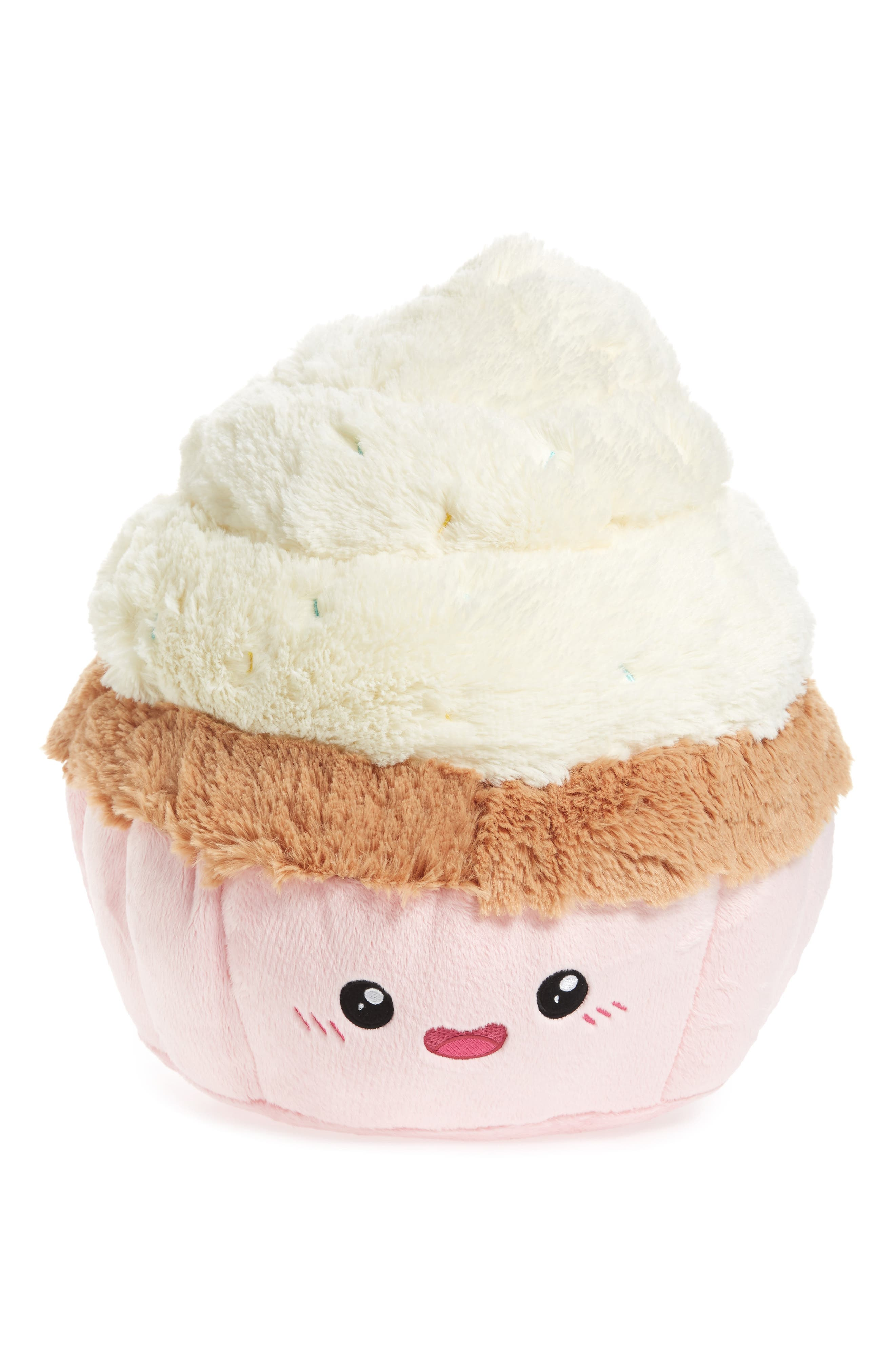 Vanilla Cupcake Stuffed Toy,                         Main,                         color, 100