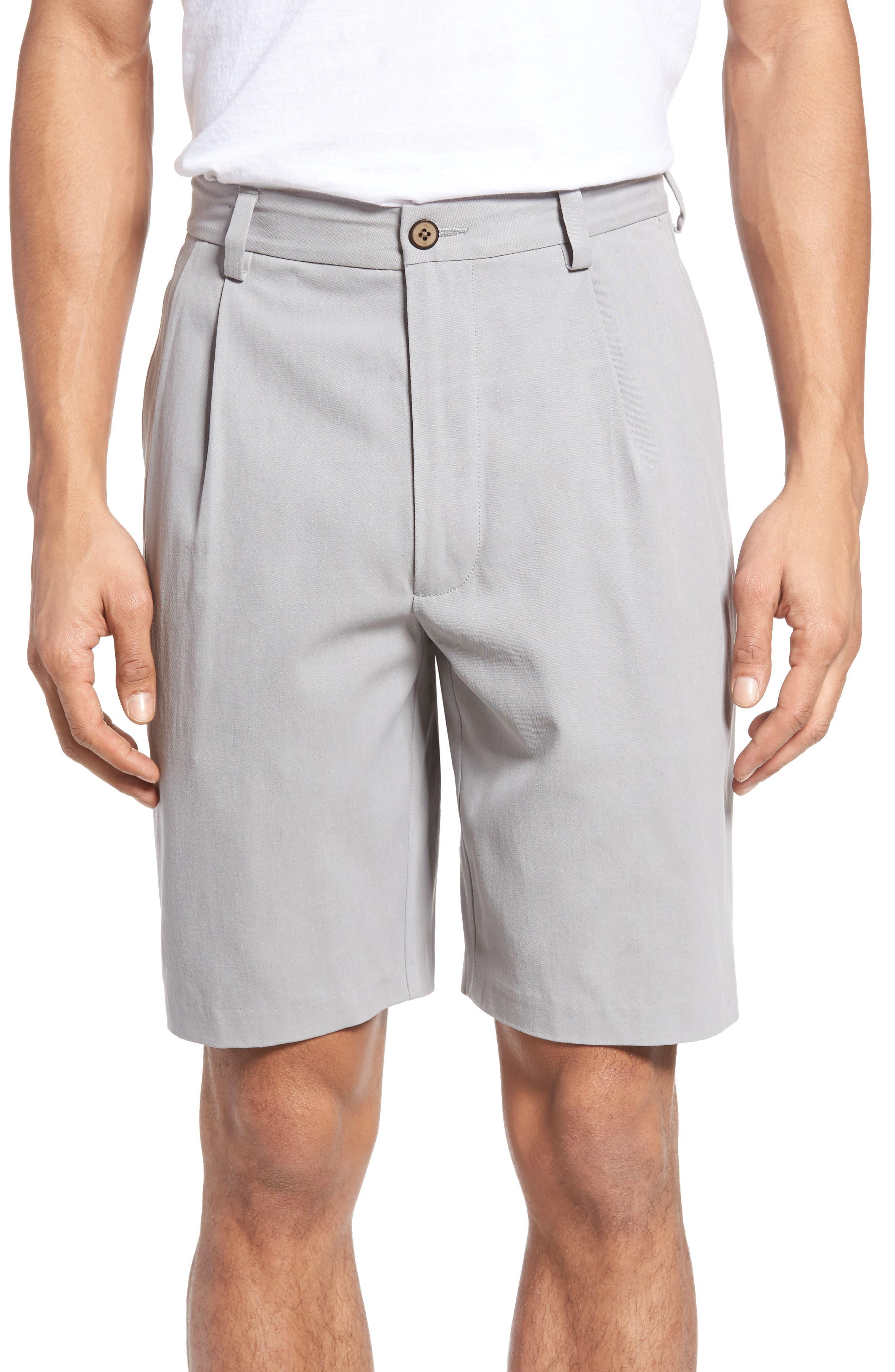 St. Thomas Pleated Shorts,                             Main thumbnail 3, color,