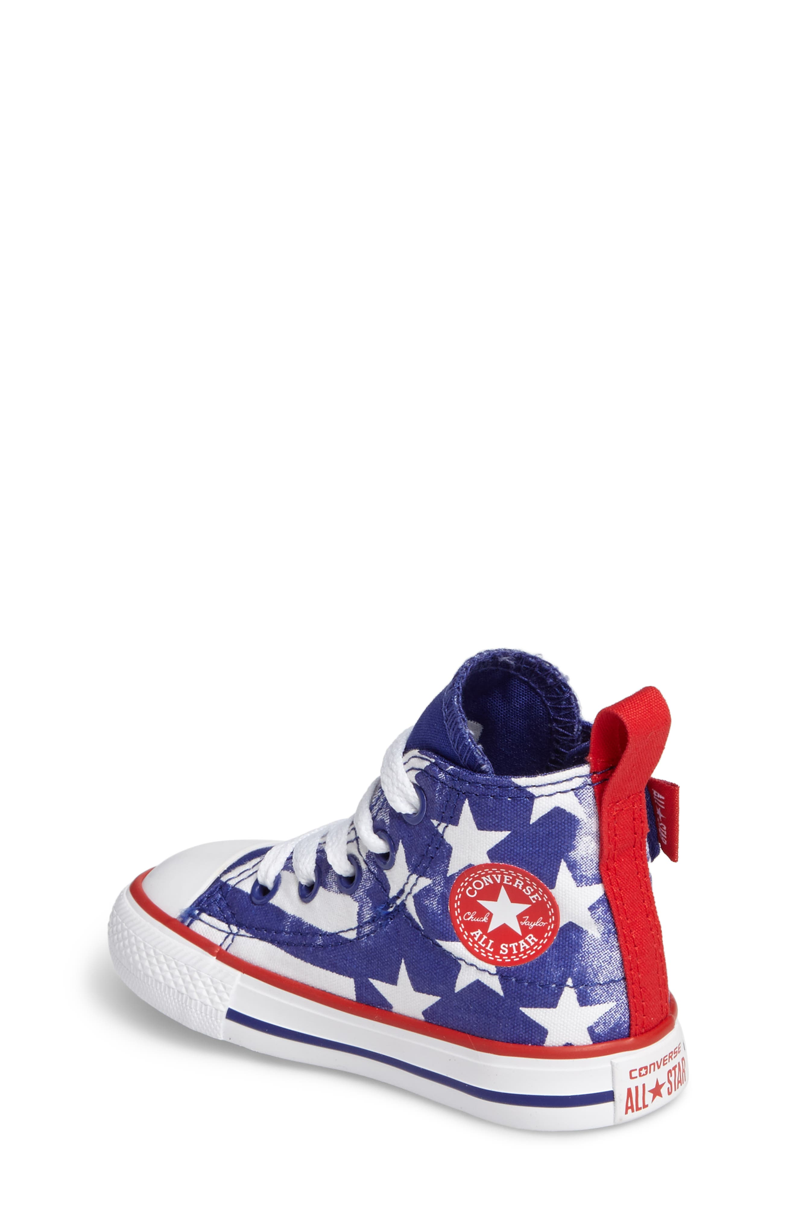 Chuck Taylor<sup>®</sup> All Star<sup>®</sup> 'Simple Step' High Top Sneaker,                             Alternate thumbnail 5, color,
