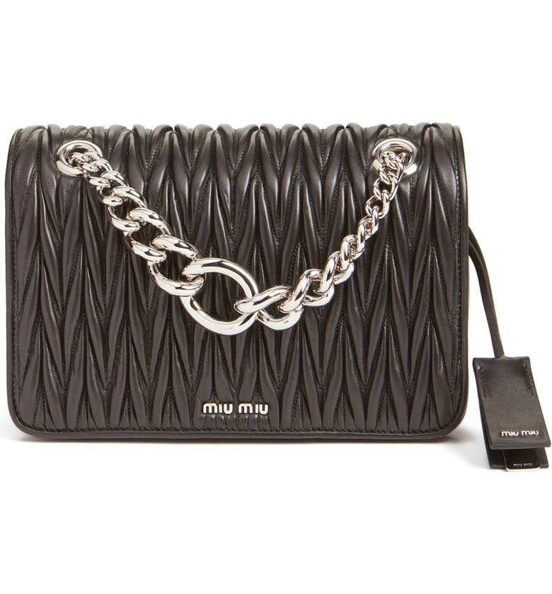 630dba5f094f Miu Miu  Club  Matelassé Leather Shoulder Bag