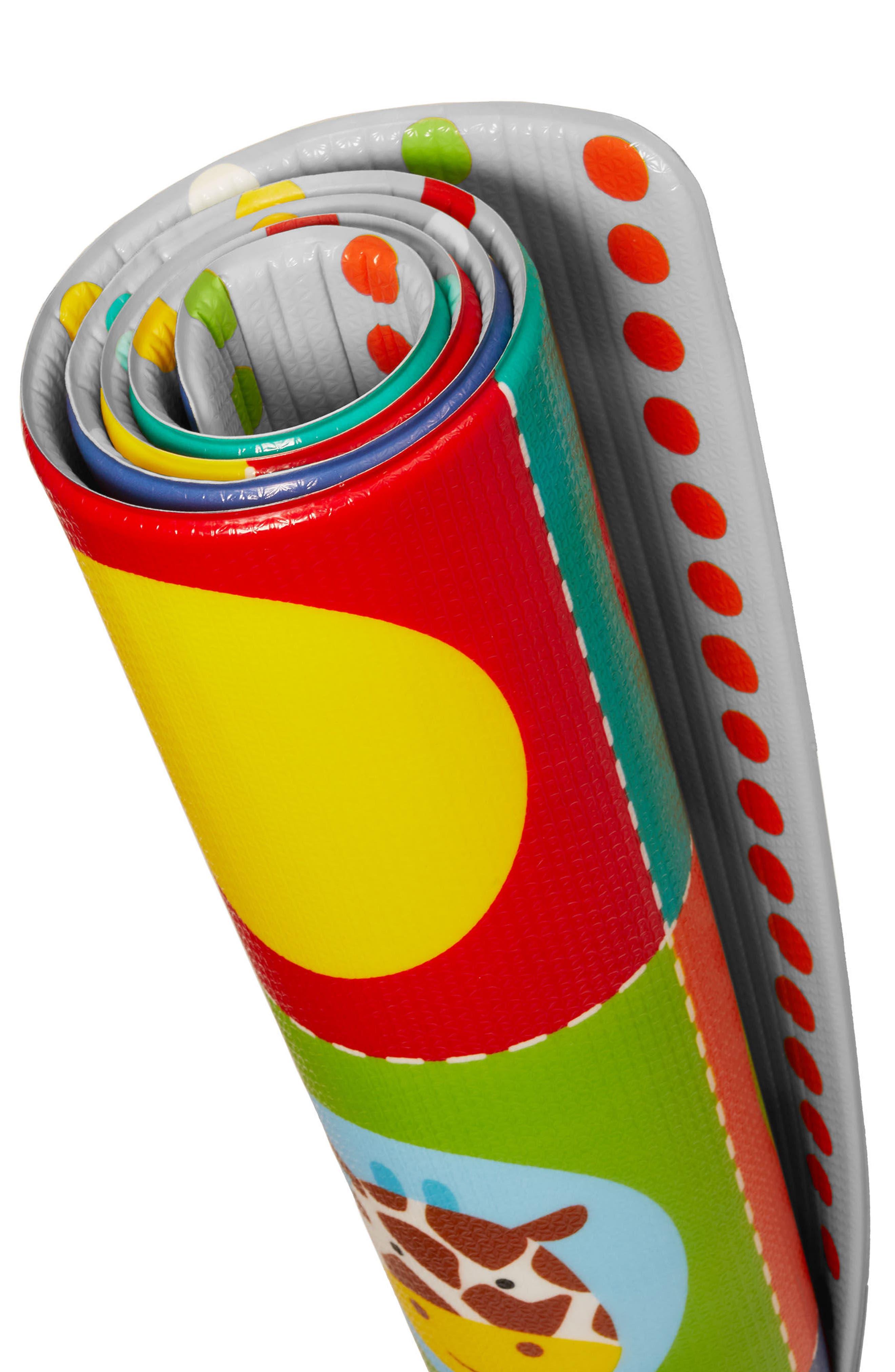 Zoo Reversible Jumbo Foam Playmat,                             Alternate thumbnail 2, color,                             MULTI