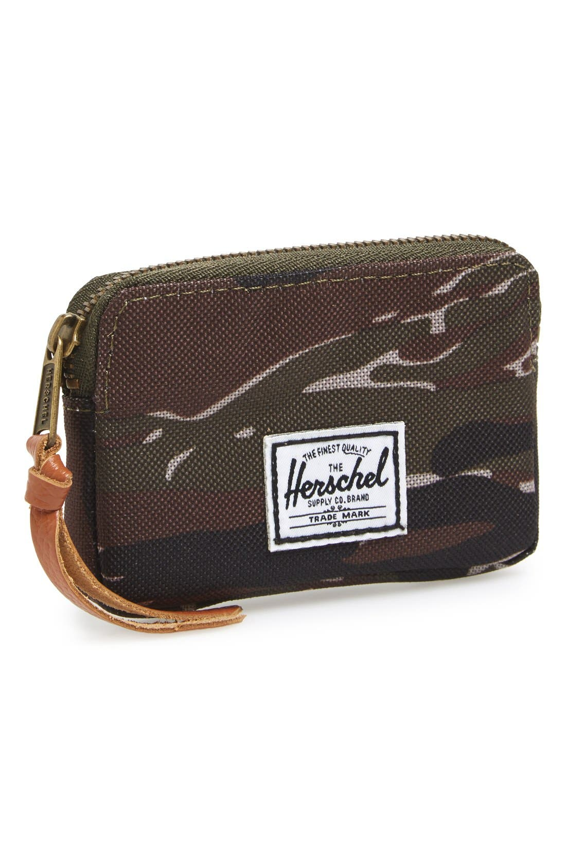 'Oxford' Pouch Wallet, Main, color, 020