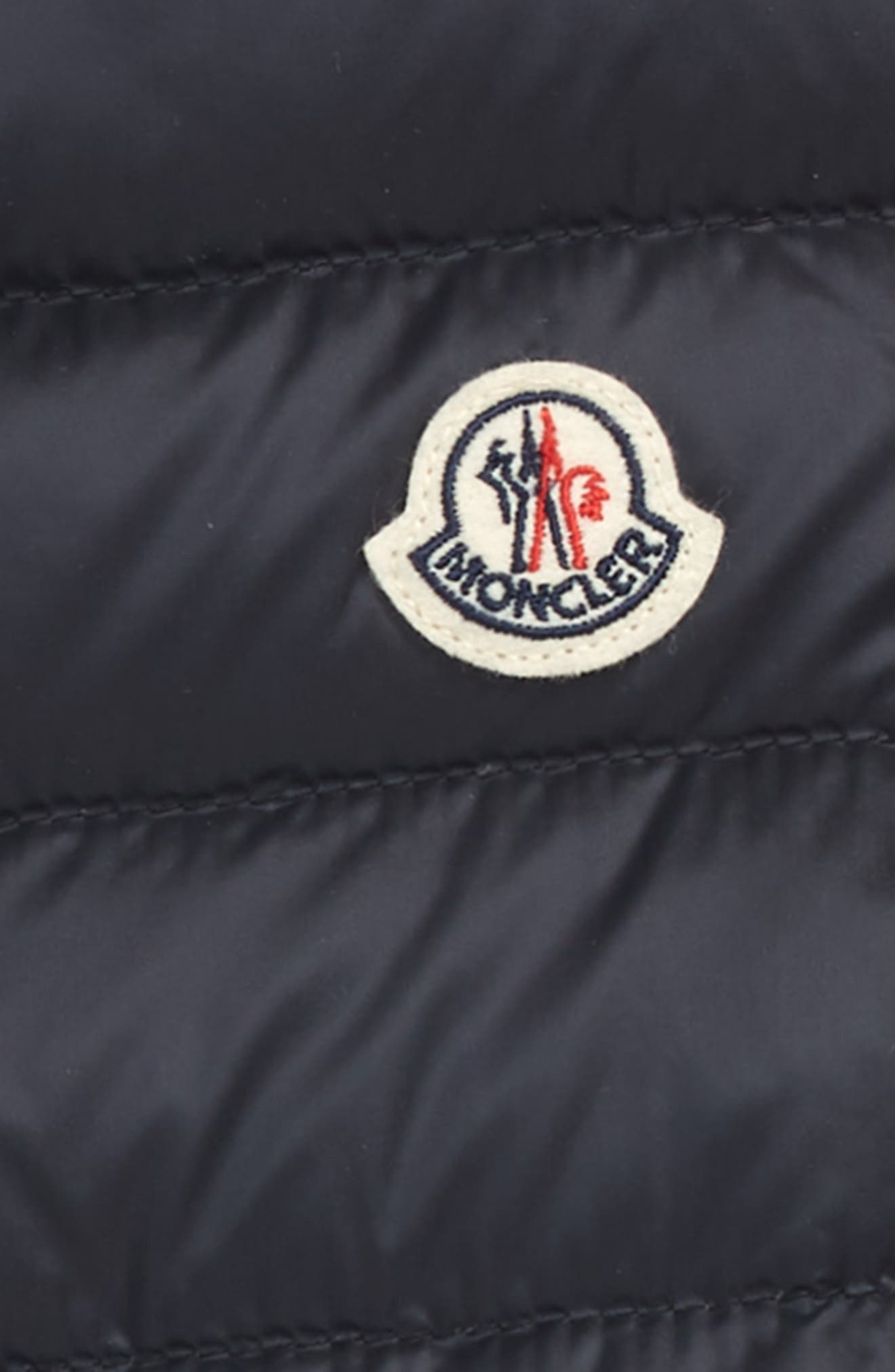 Liane Water Resistant Quilted Down Vest,                             Alternate thumbnail 2, color,                             NAVY
