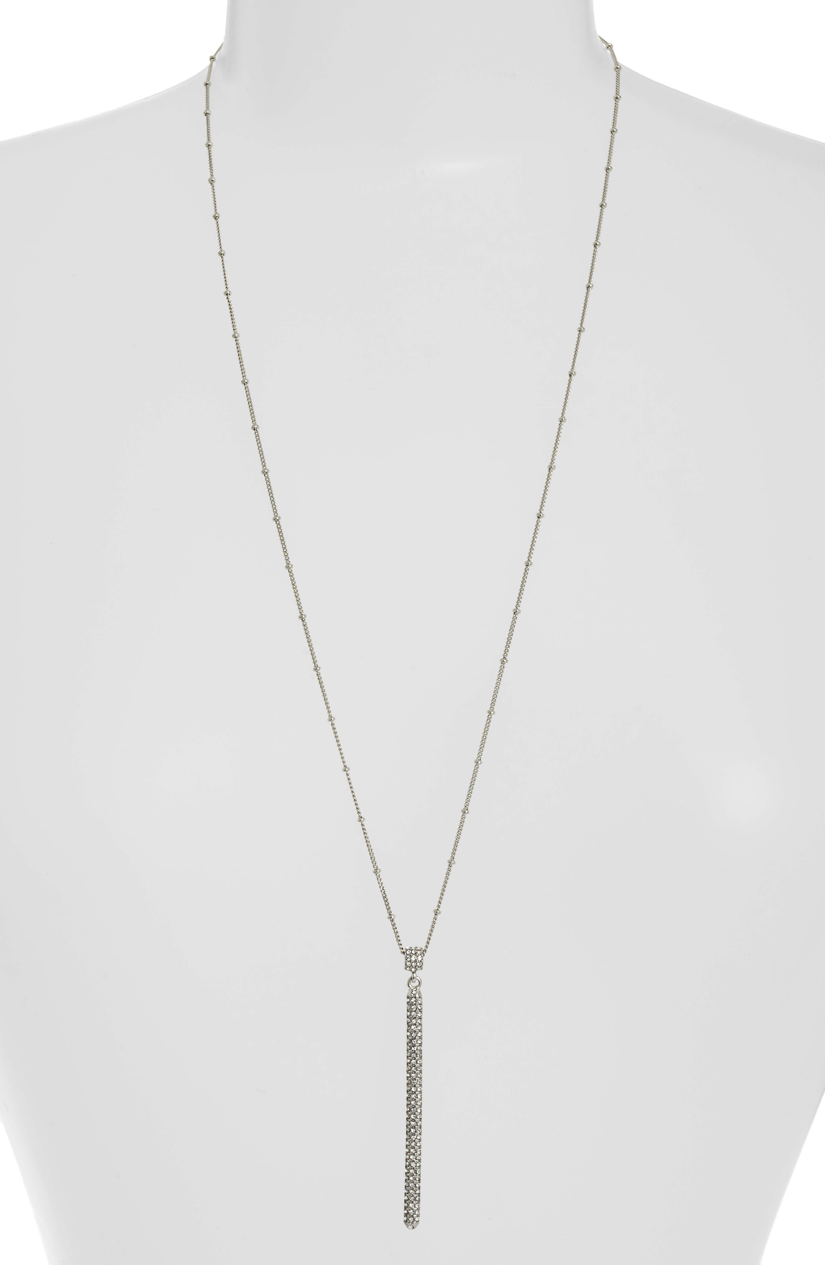 VINCE CAMUTO,                             Tassel Pendant Necklace,                             Main thumbnail 1, color,                             041