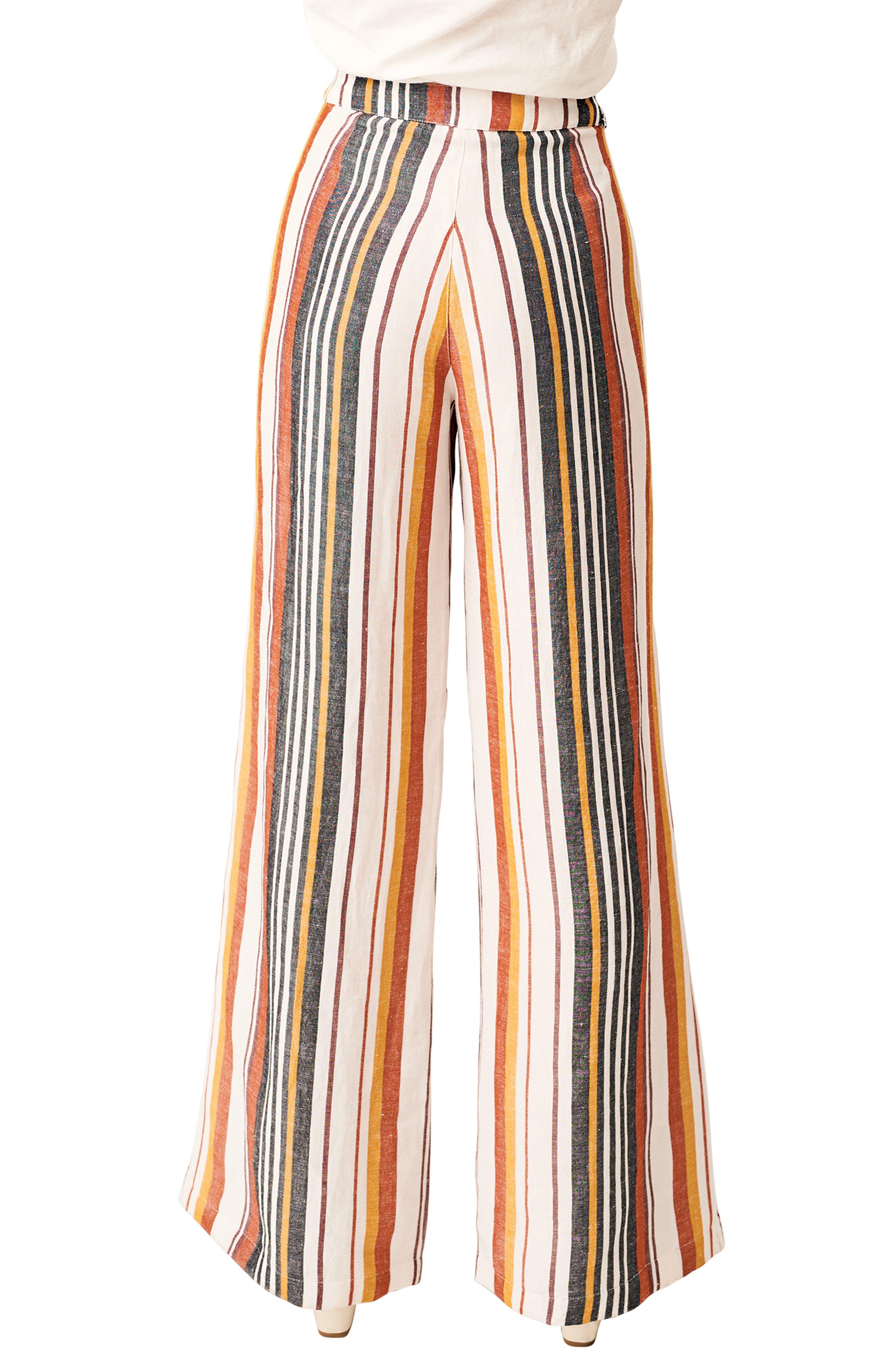 Hook It Up Stripe Pants,                             Alternate thumbnail 2, color,                             MULTI