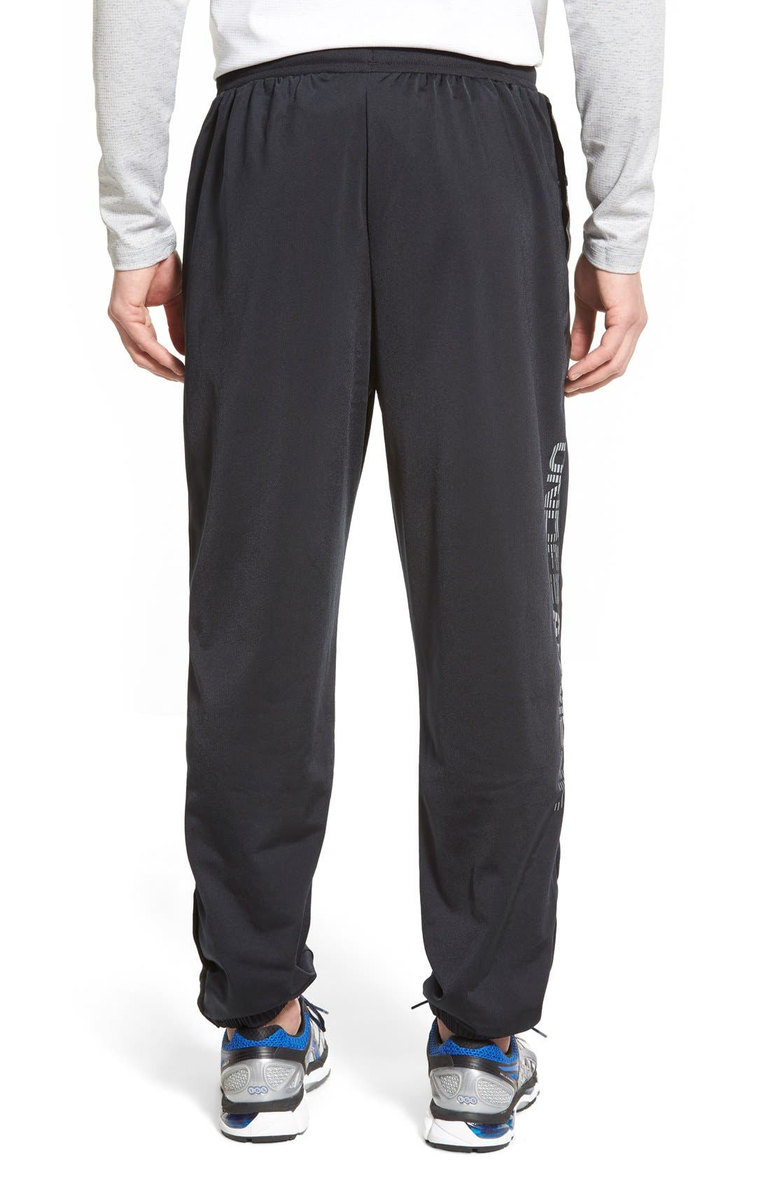 UNDER ARMOUR,                             'Diddy Bop' Moisture Wicking Training Pants,                             Alternate thumbnail 5, color,                             001
