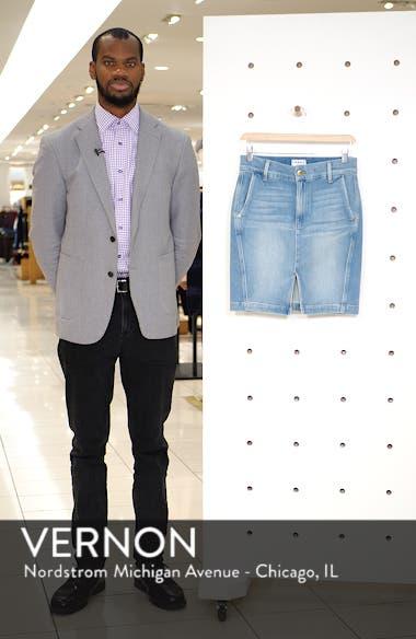 Body-Con Denim Miniskirt, sales video thumbnail