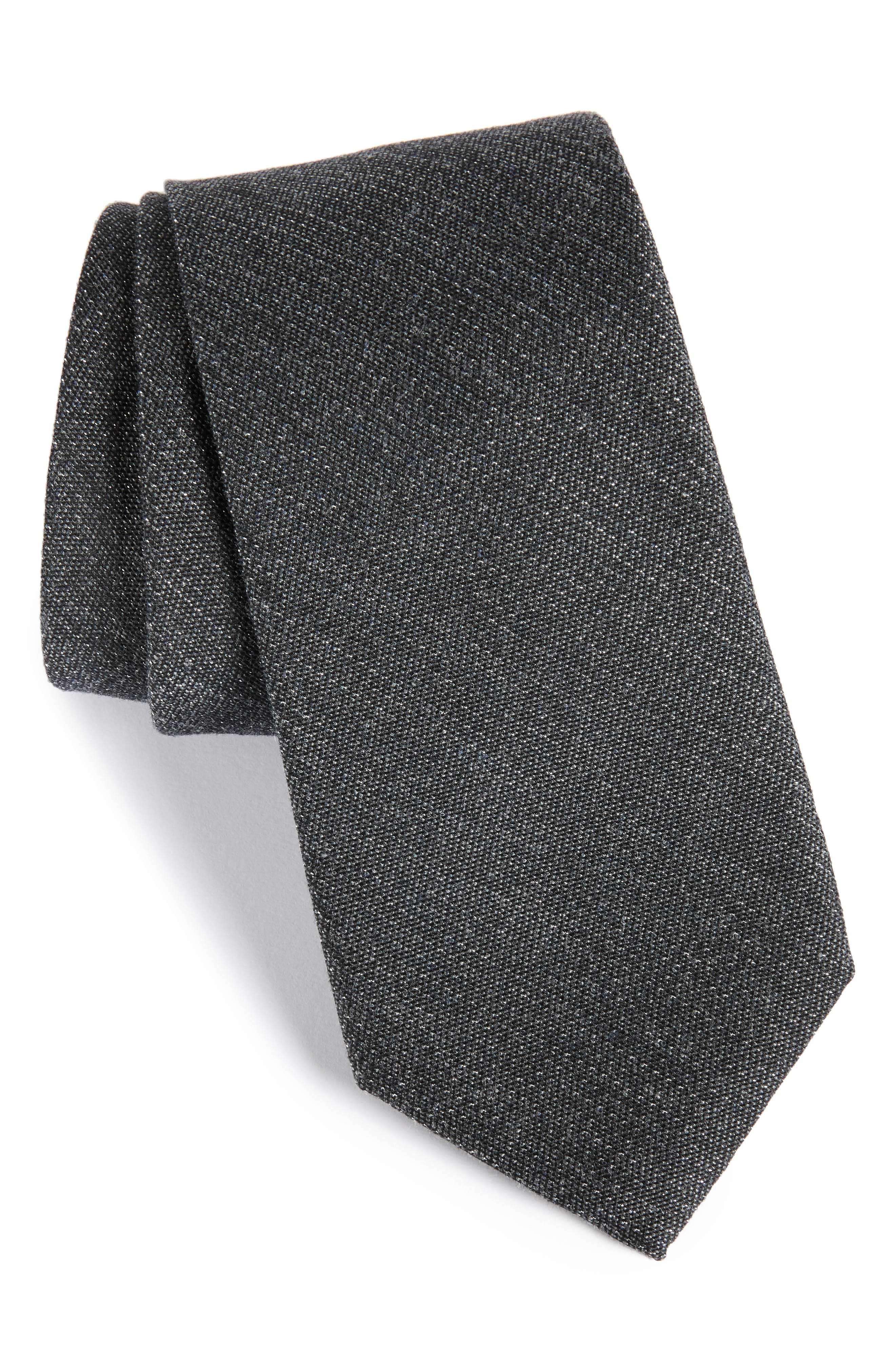 Resolution Silk Blend Tie,                             Main thumbnail 1, color,                             001
