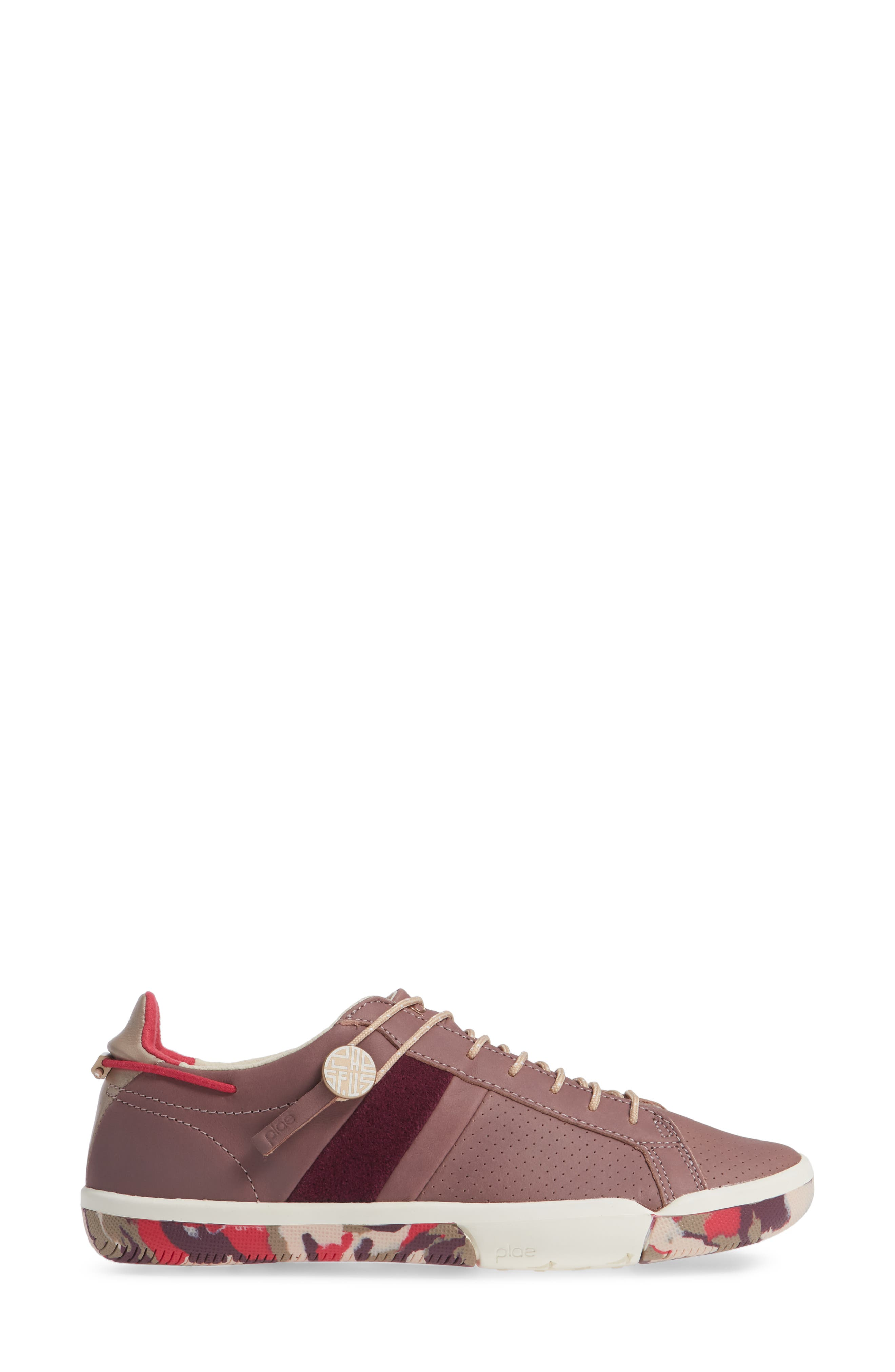 Mulberry Sneaker,                             Alternate thumbnail 3, color,                             SILTSTONE LEATHER