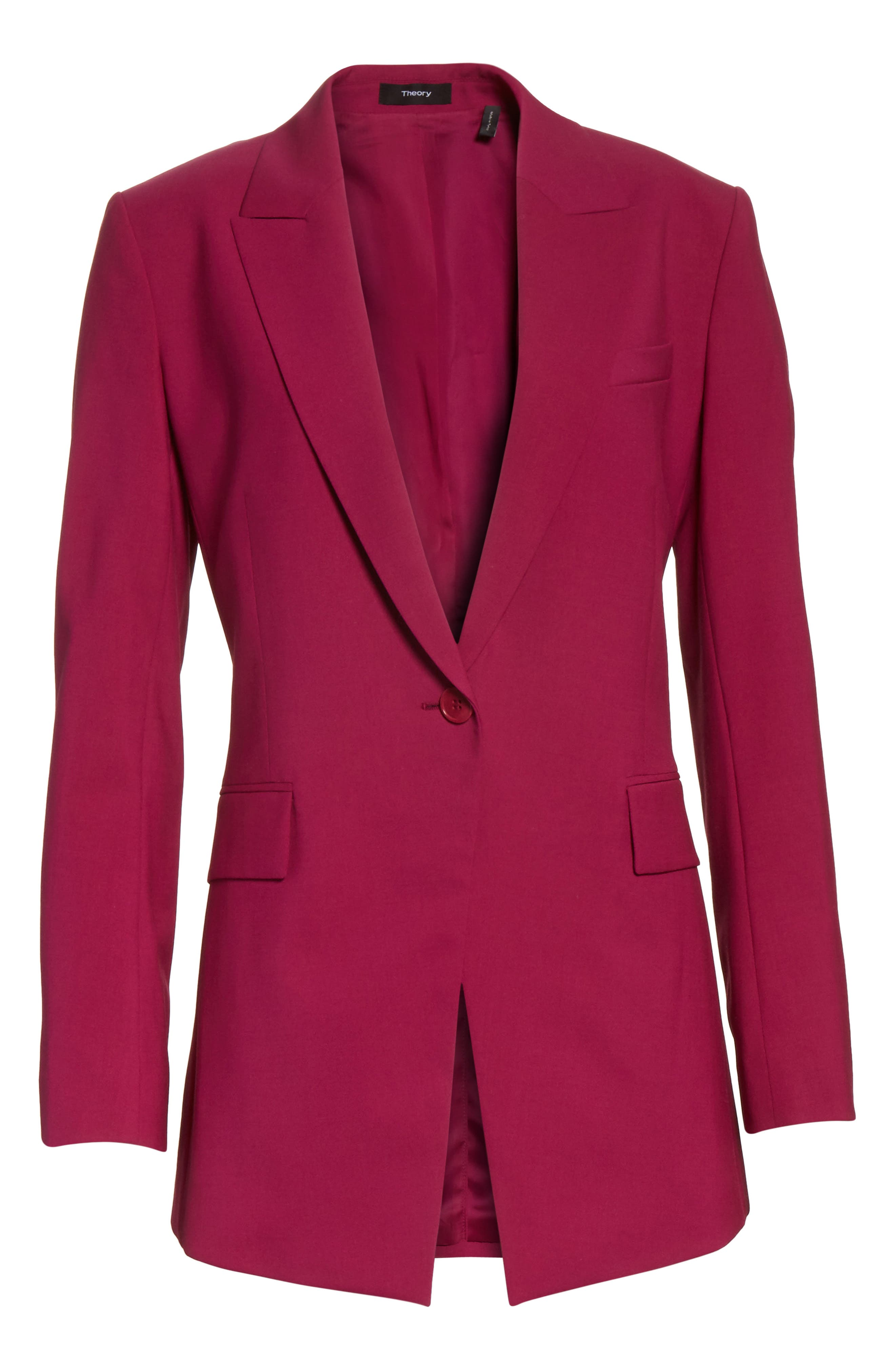 Etienette B Good Wool Suit Jacket,                             Alternate thumbnail 38, color,