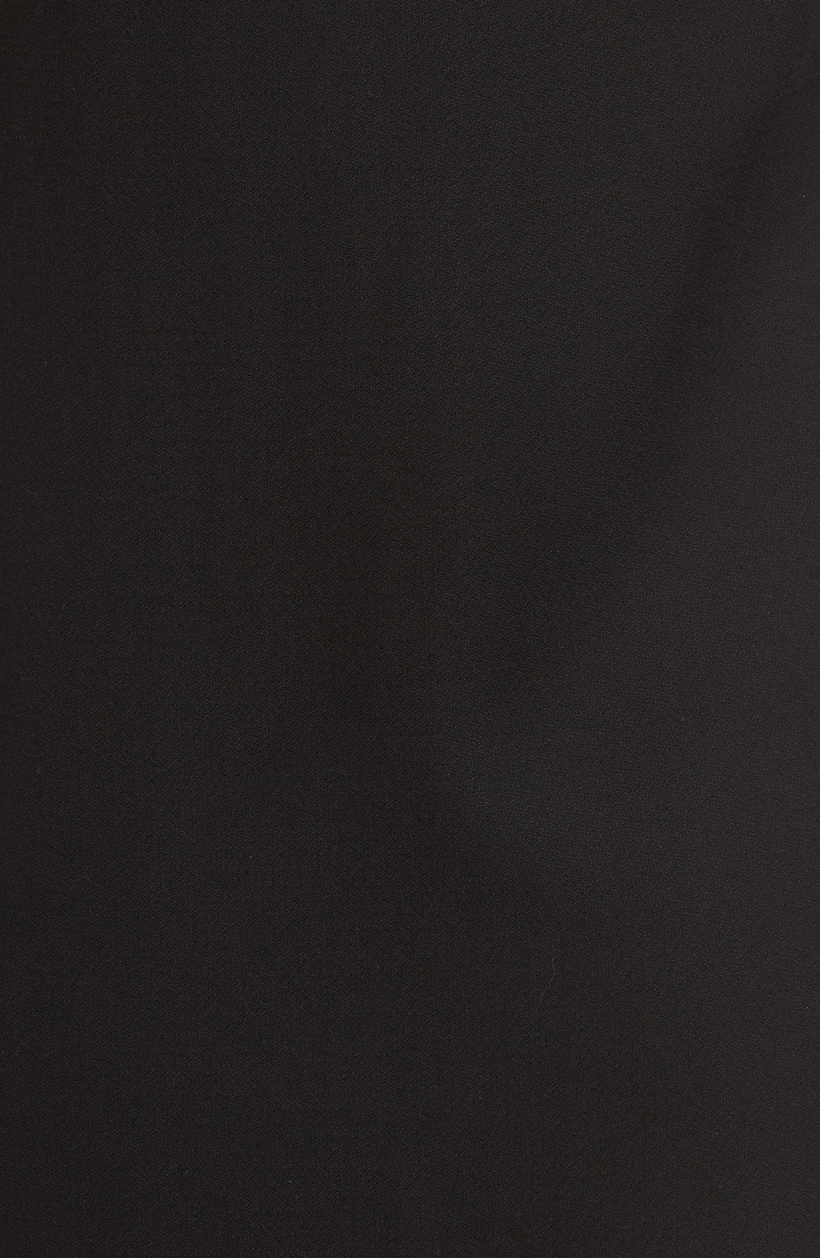 Tank Midi Dress,                             Alternate thumbnail 5, color,                             001