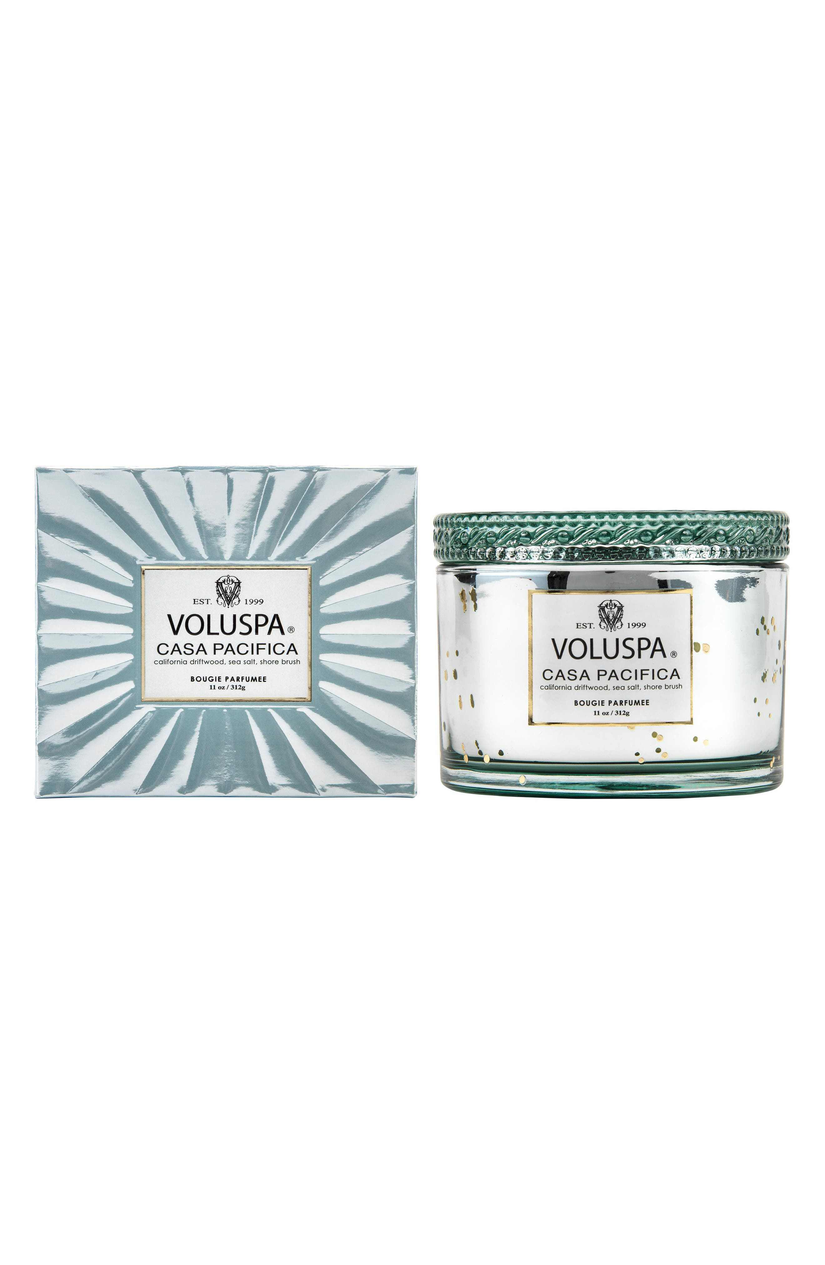VOLUSPA,                             Vermeil Casa Pacifica Corta Maison Candle,                             Alternate thumbnail 2, color,                             NO COLOR