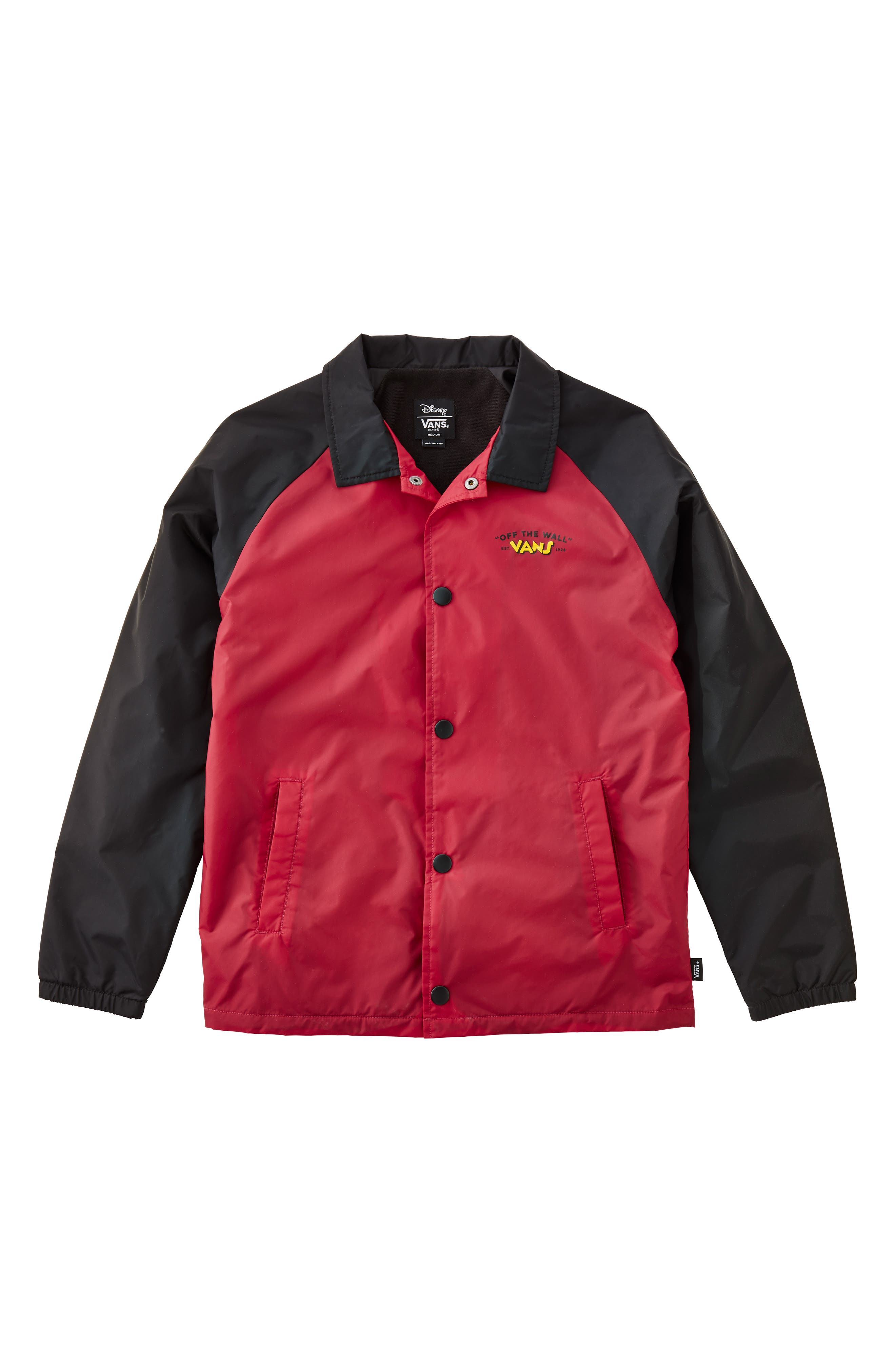 Torrey Water Resistant Jacket,                             Main thumbnail 1, color,                             CLASSIC MICKEY