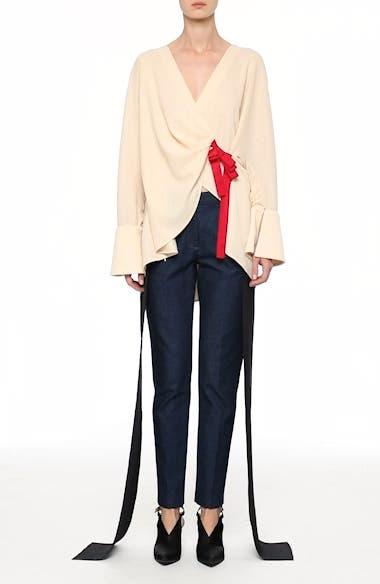 Mojave Side Panel Skinny Jeans, video thumbnail