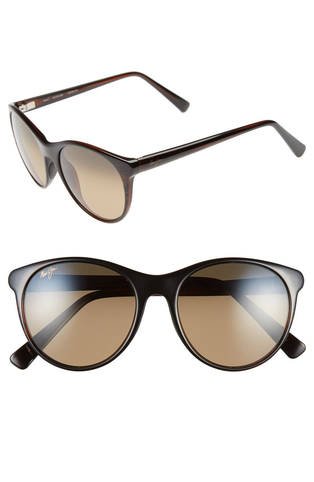 Mannikin 54mm PolarizedPlus<sup>®</sup> Cat Eye Sunglasses, Main, color, 200