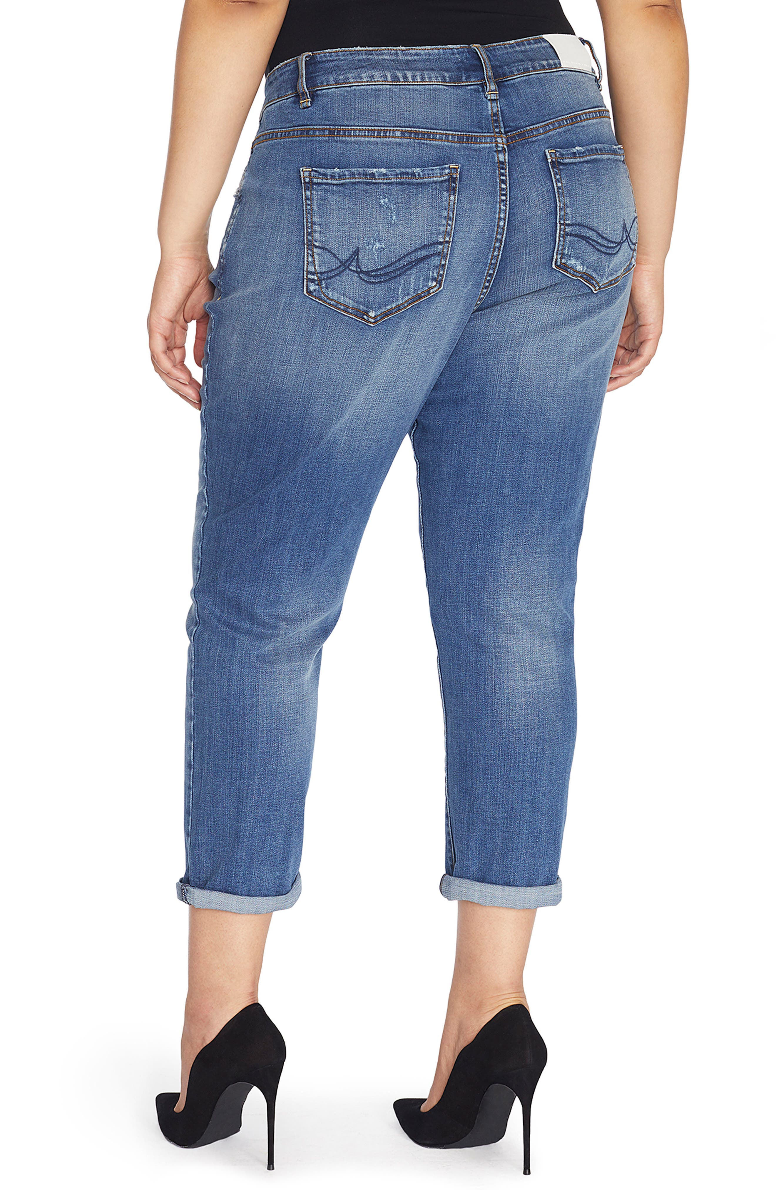 The Ryot Slim Boyfriend Jeans,                             Alternate thumbnail 8, color,