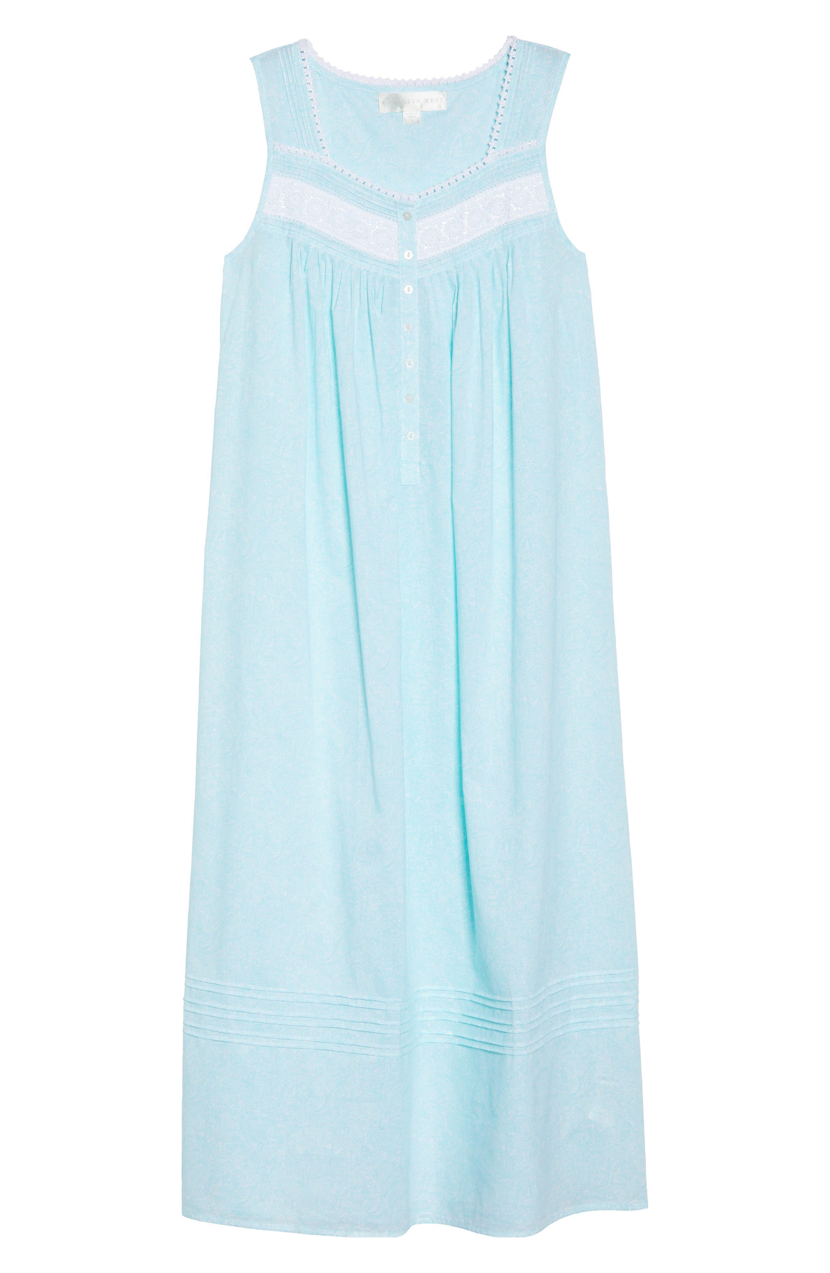 Cotton Lawn Ballet Nightgown,                             Alternate thumbnail 6, color,