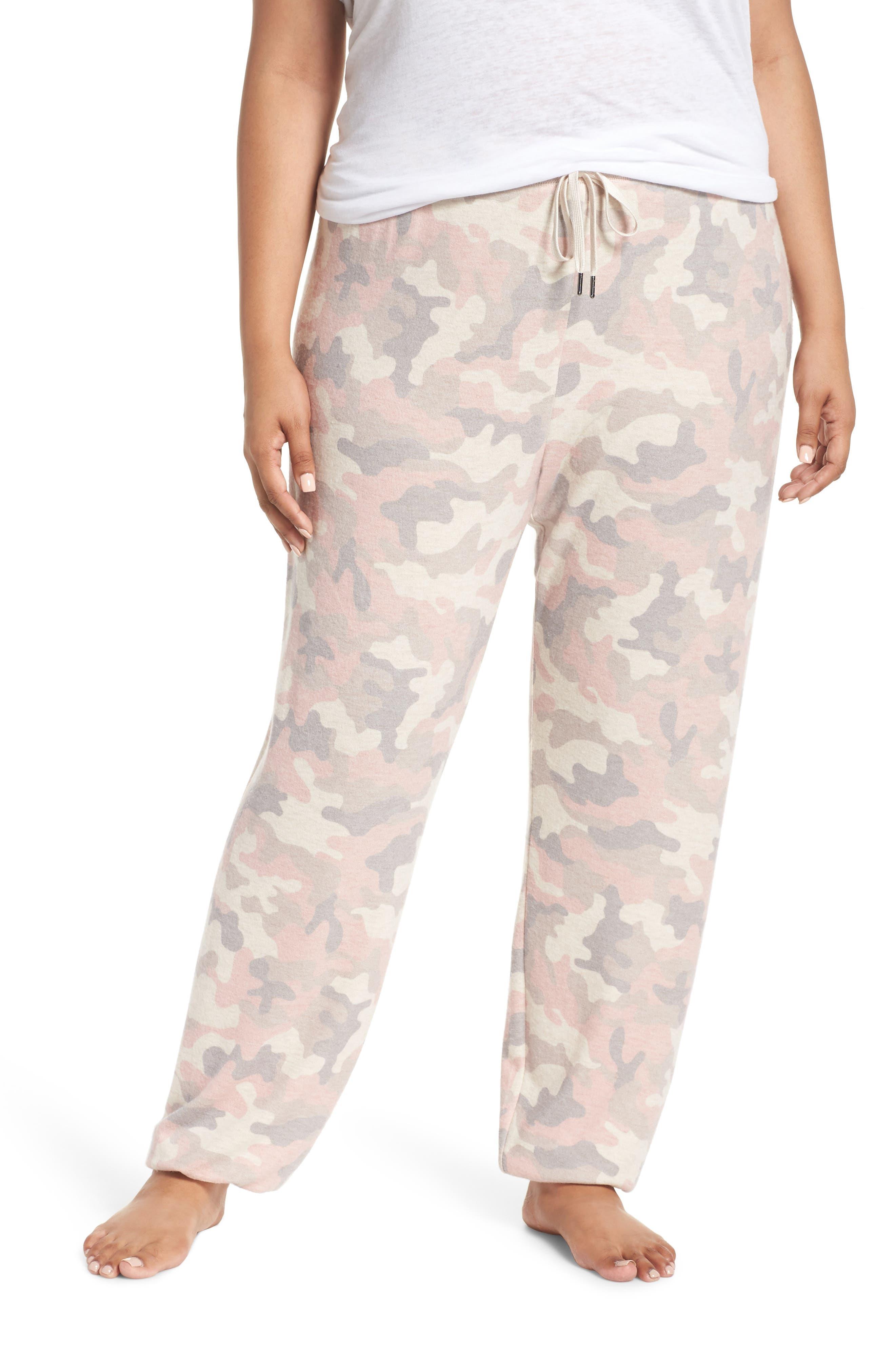 Love is a Battle Camo Pajama Pants,                             Main thumbnail 1, color,                             900