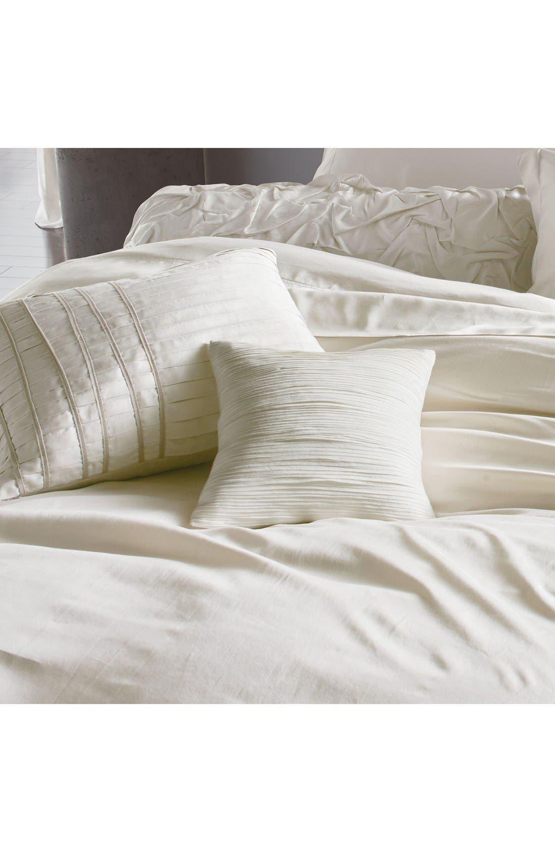Donna Karan Collection 'Silk Essentials' Habutai Silk Duvet Cover,                             Alternate thumbnail 6, color,