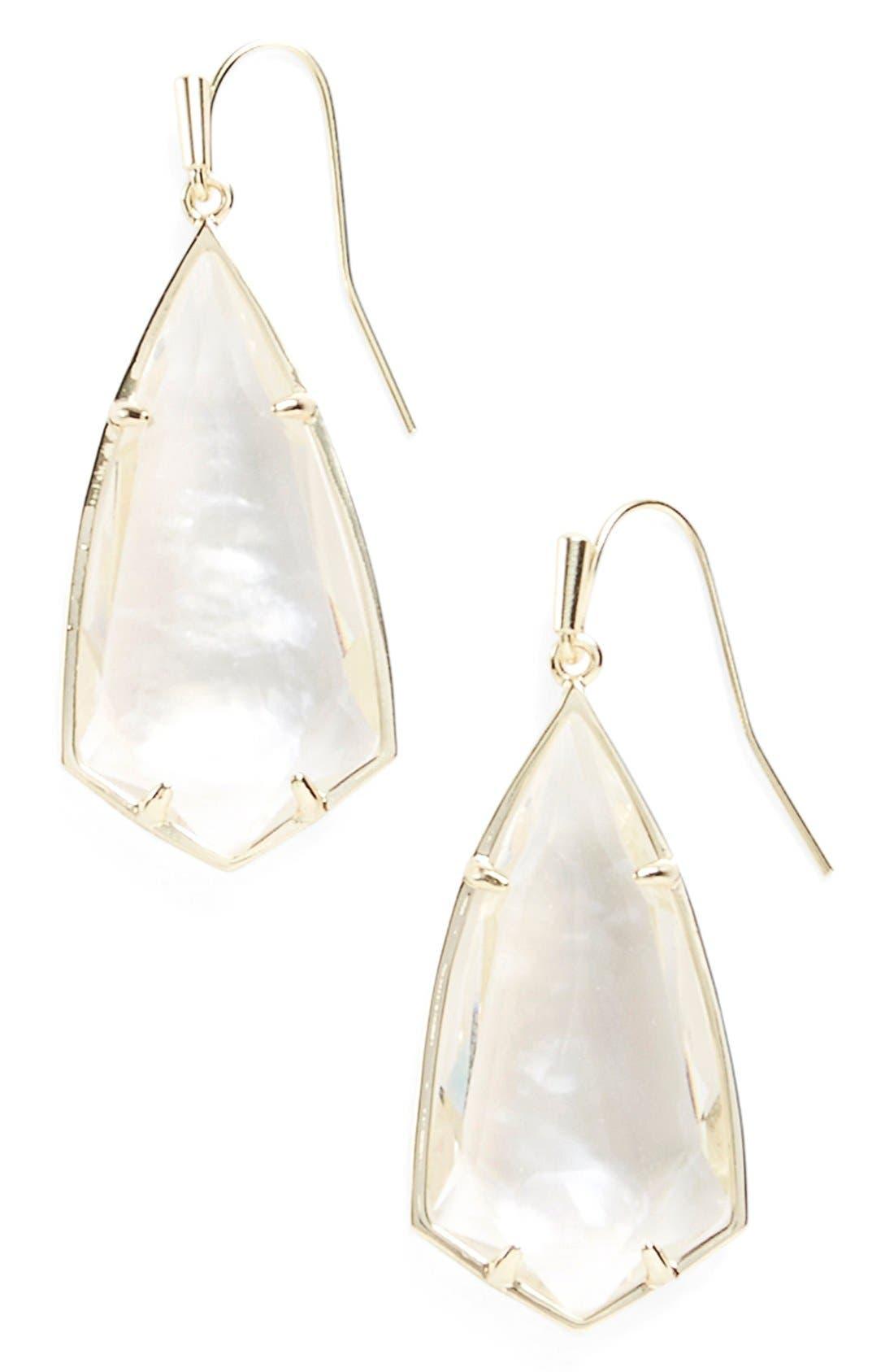 Carla Semiprecious Stone Drop Earrings,                             Main thumbnail 11, color,