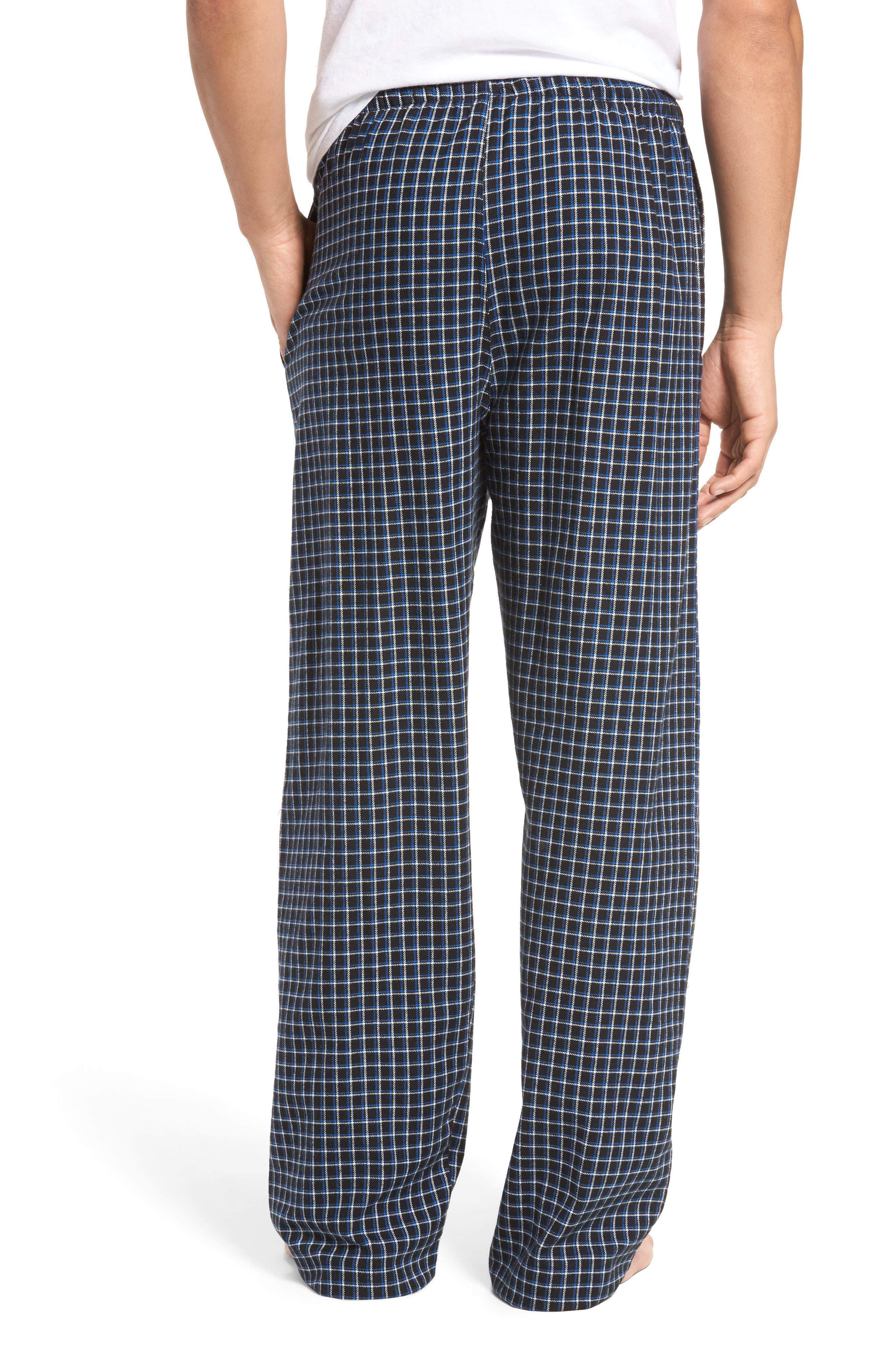 Flannel Pajama Pants,                             Alternate thumbnail 22, color,