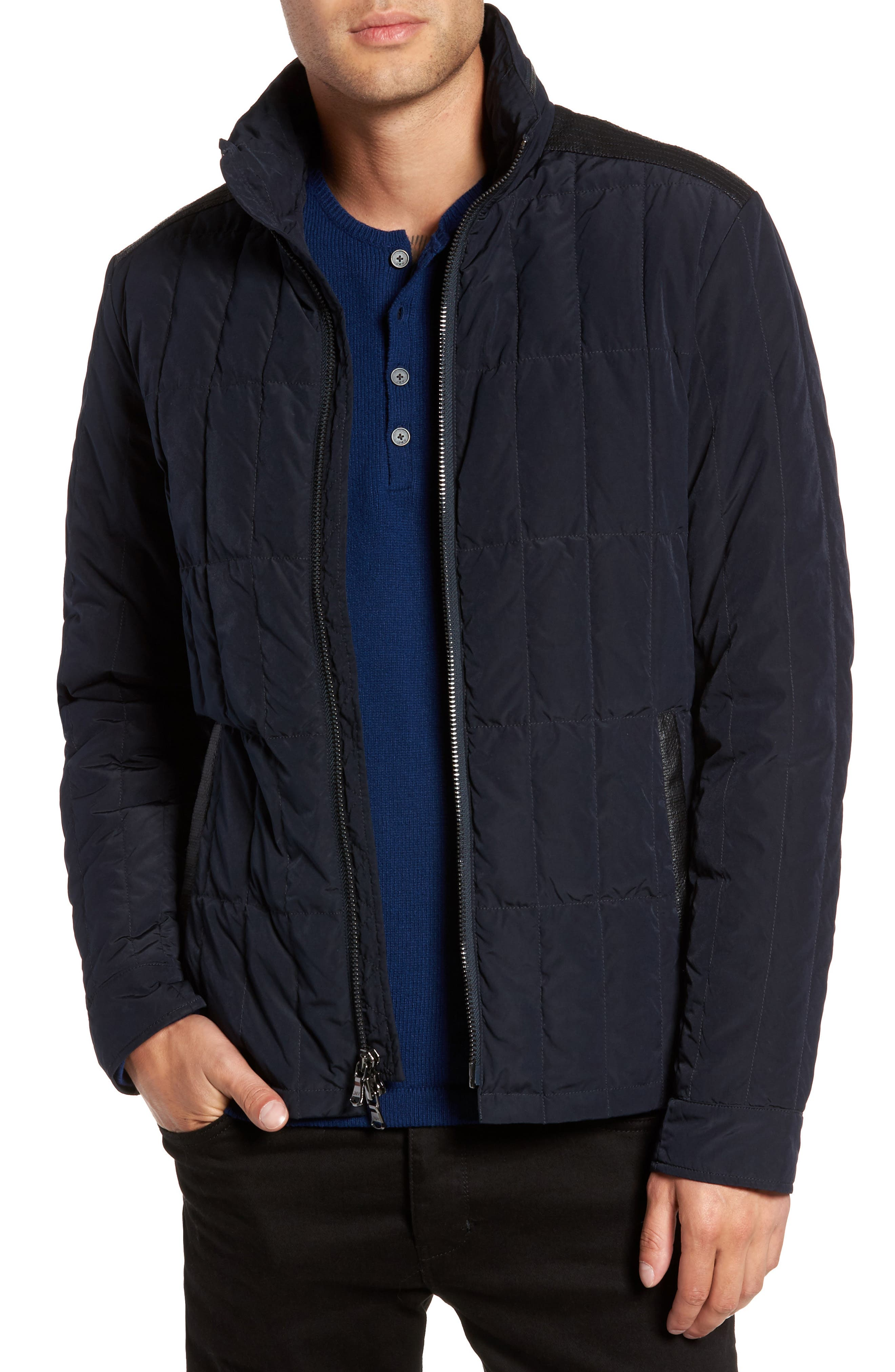 Quilted Down Jacket,                             Main thumbnail 2, color,