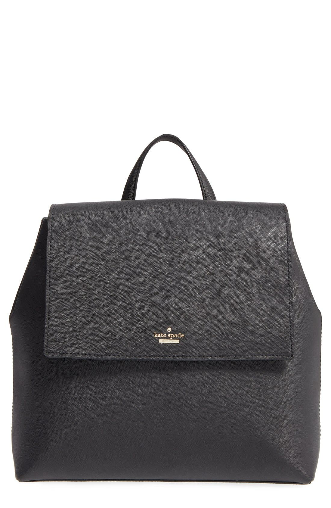 'cameron street - neema' leather backpack,                             Main thumbnail 1, color,                             001