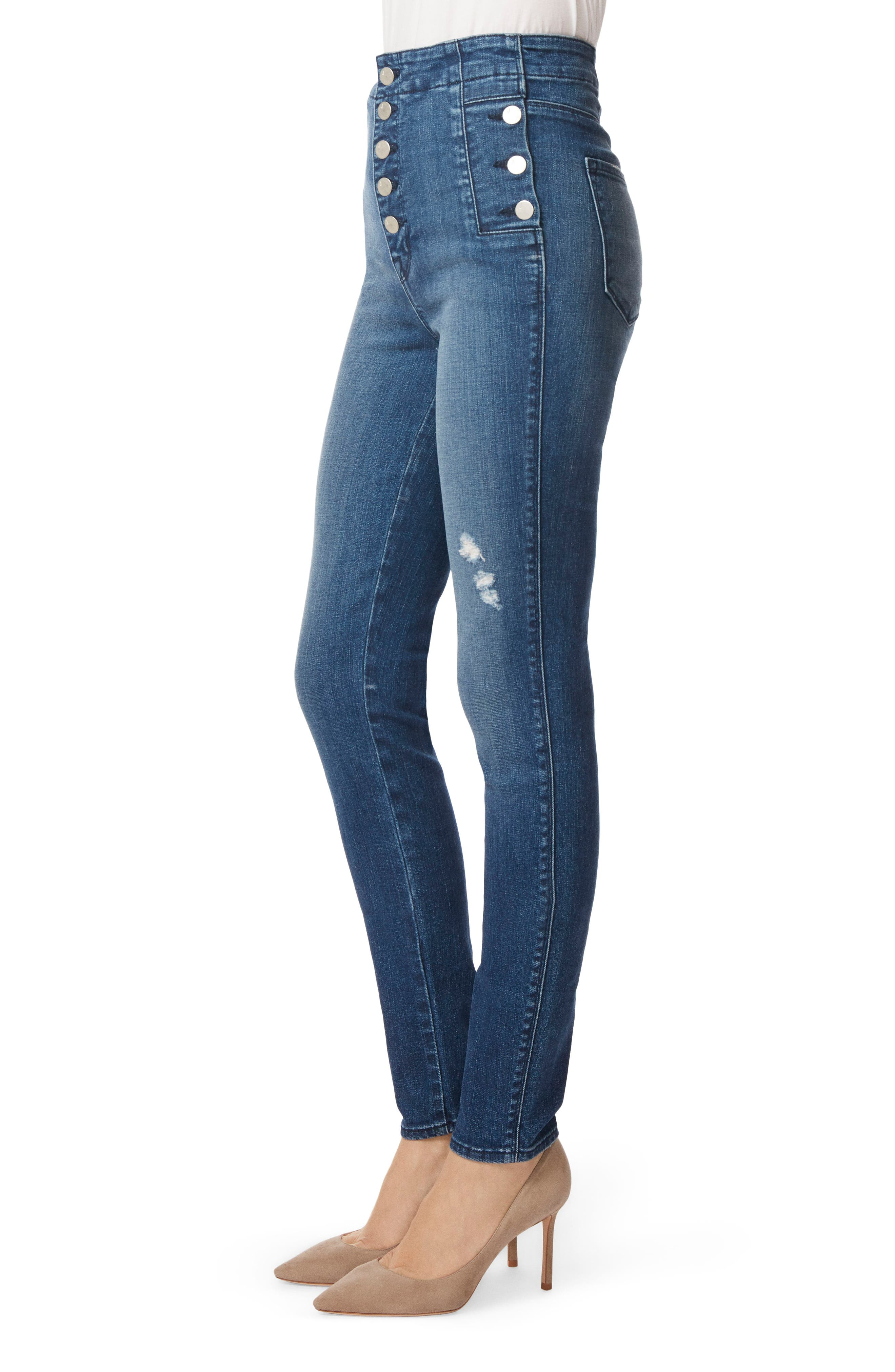 Natasha Sky High High Waist Skinny Jeans,                             Alternate thumbnail 3, color,                             234