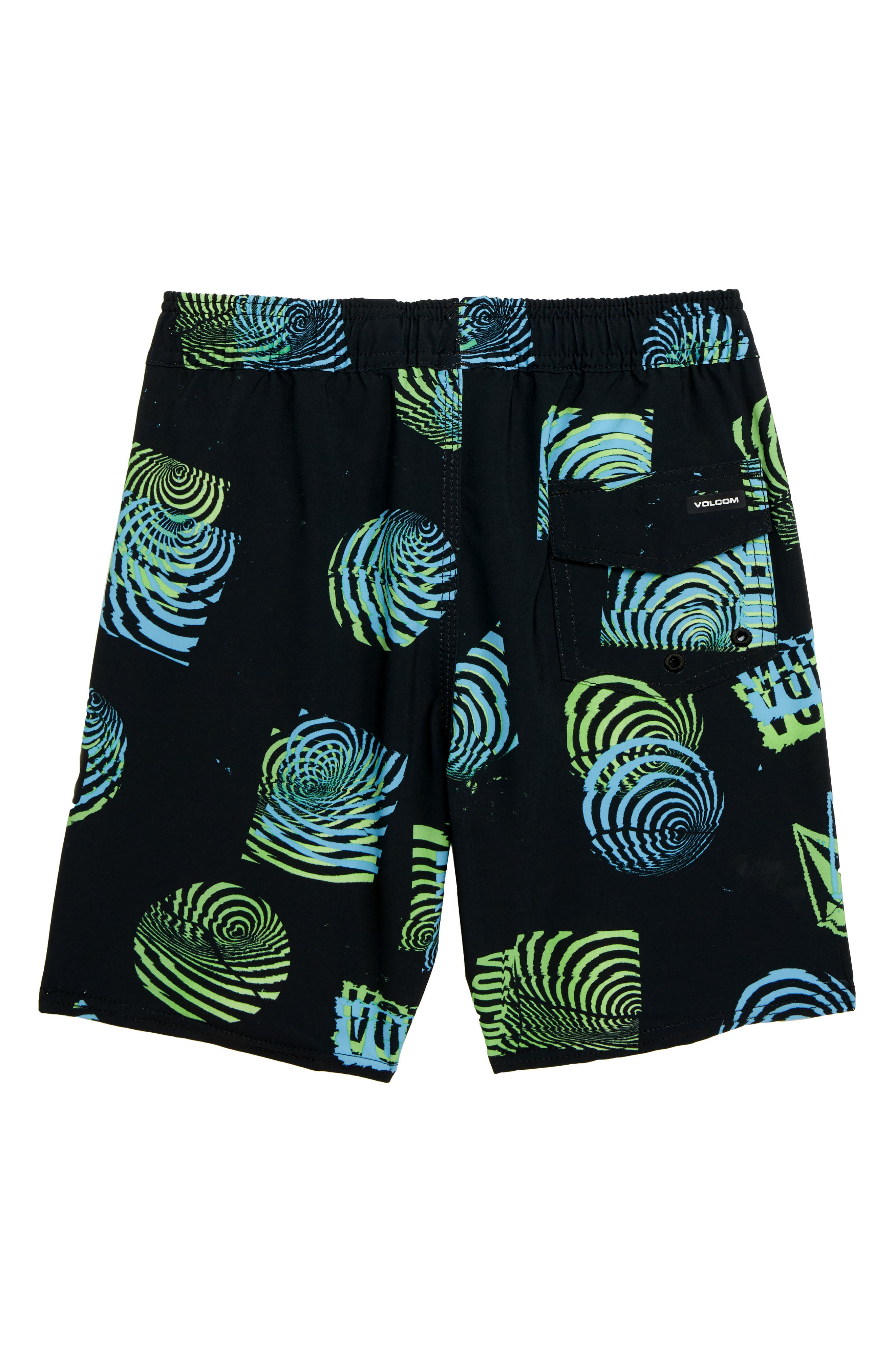 Nothing More Volley Shorts,                             Alternate thumbnail 2, color,                             BLACK